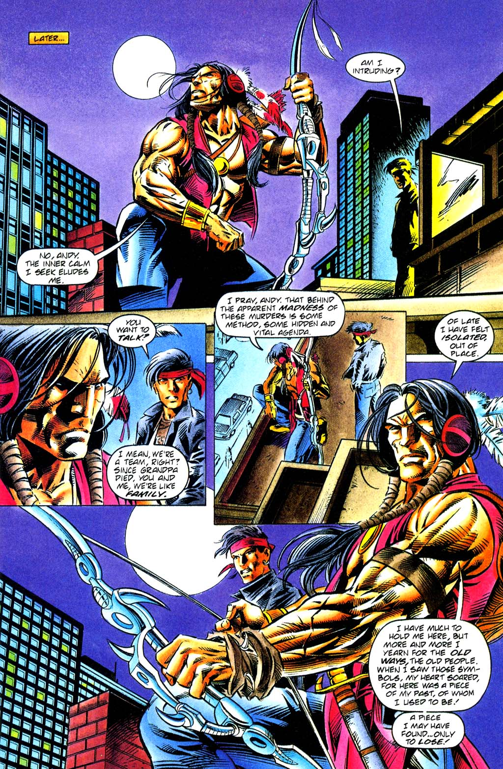 Read online Turok, Dinosaur Hunter (1993) comic -  Issue #29 - 7
