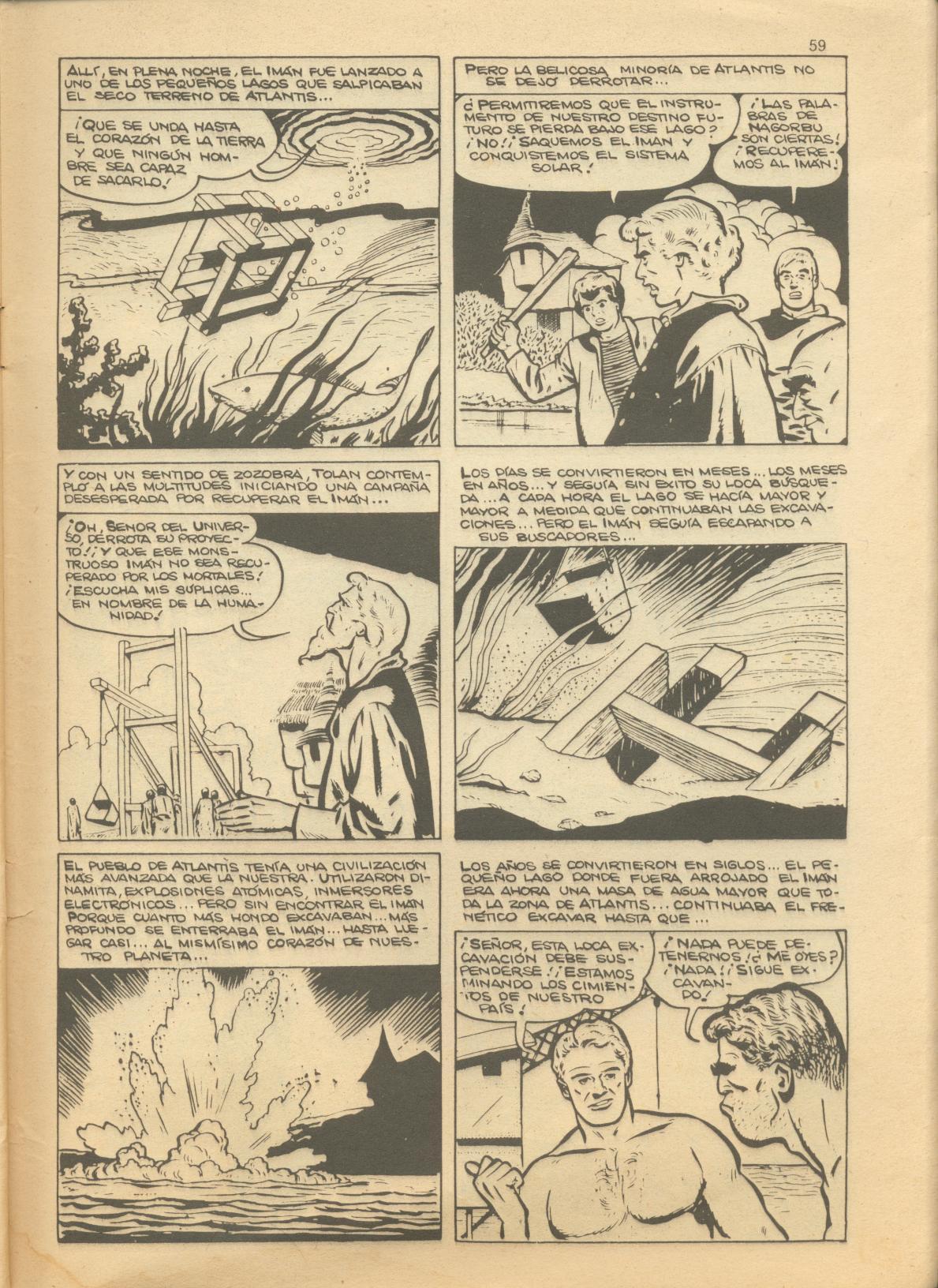 Read online Adventures into Weird Worlds comic -  Issue #1 - 23