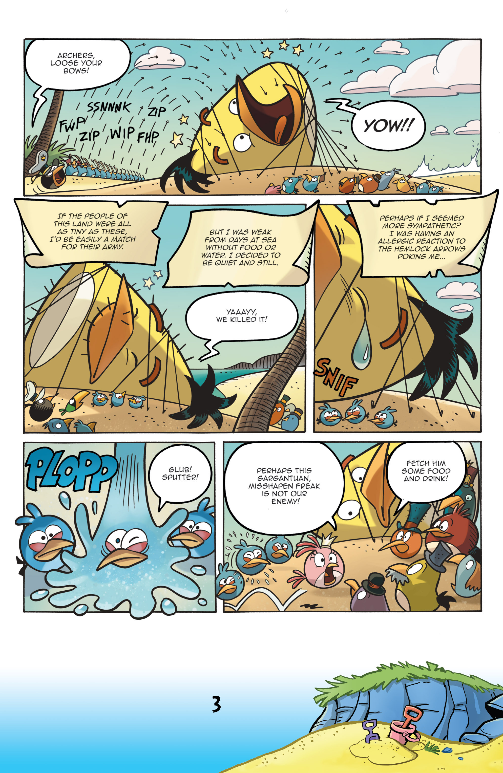 Read online Angry Birds Comics (2016) comic -  Issue #7 - 5