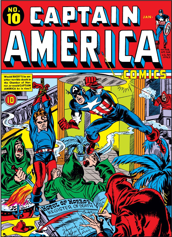 Captain America Comics 10 Page 1