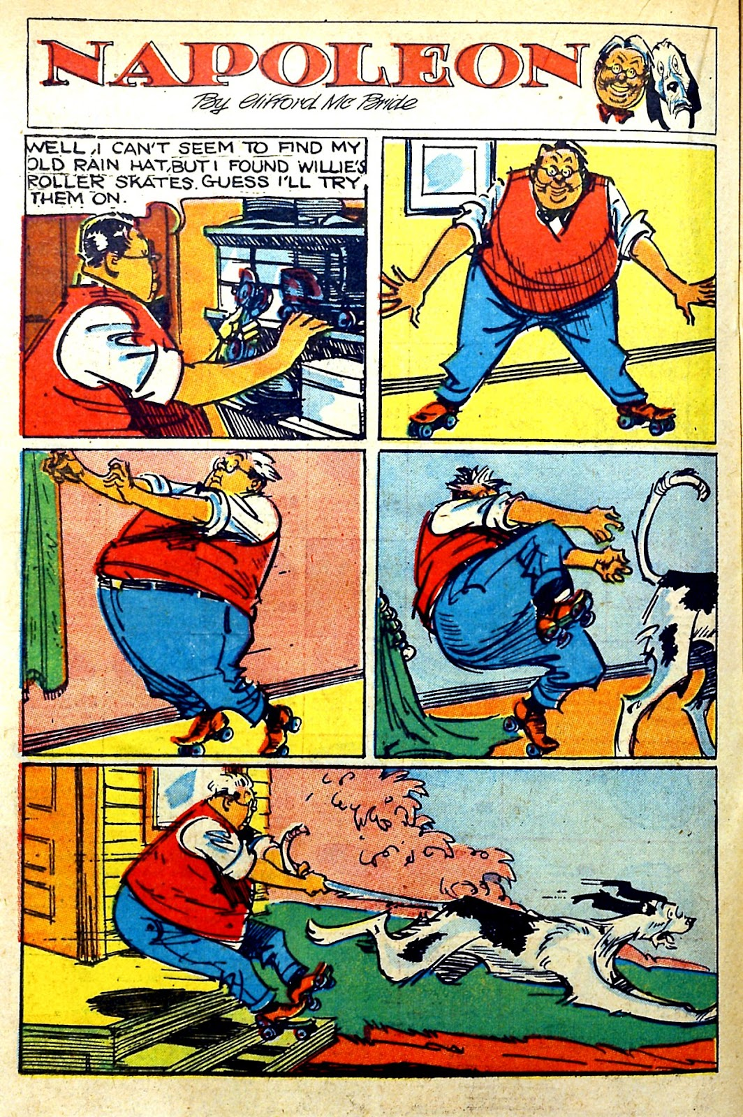 Read online Famous Funnies comic -  Issue #145 - 28