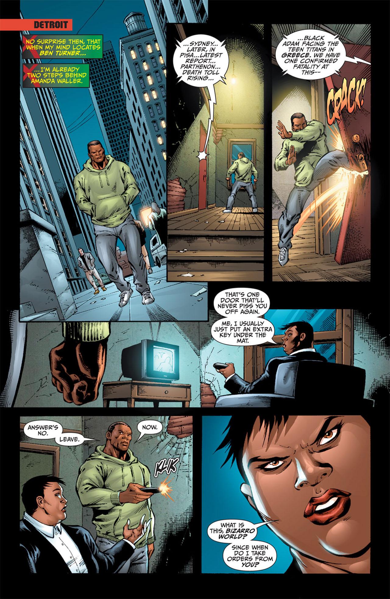 Read online World War III comic -  Issue #3 - 13