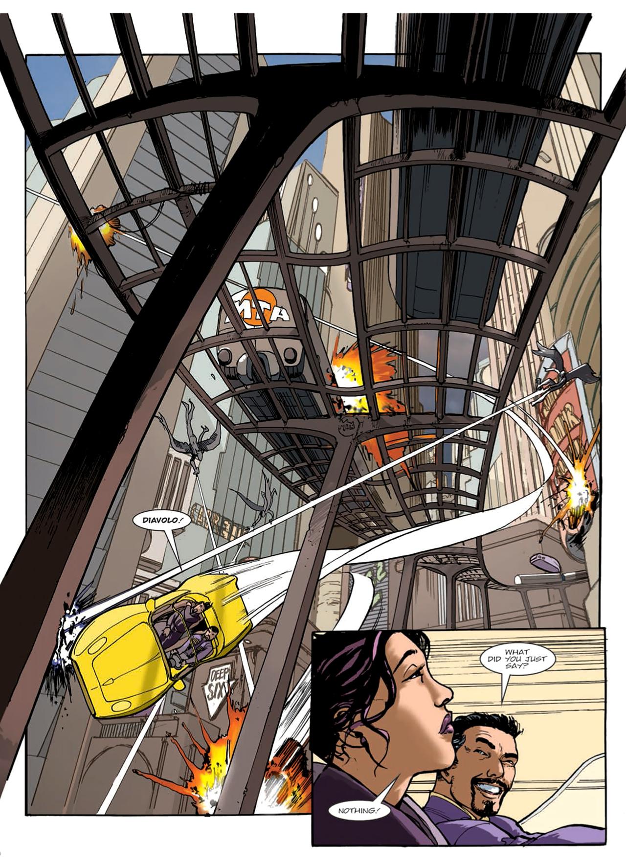 Read online Nikolai Dante comic -  Issue # TPB 9 - 52