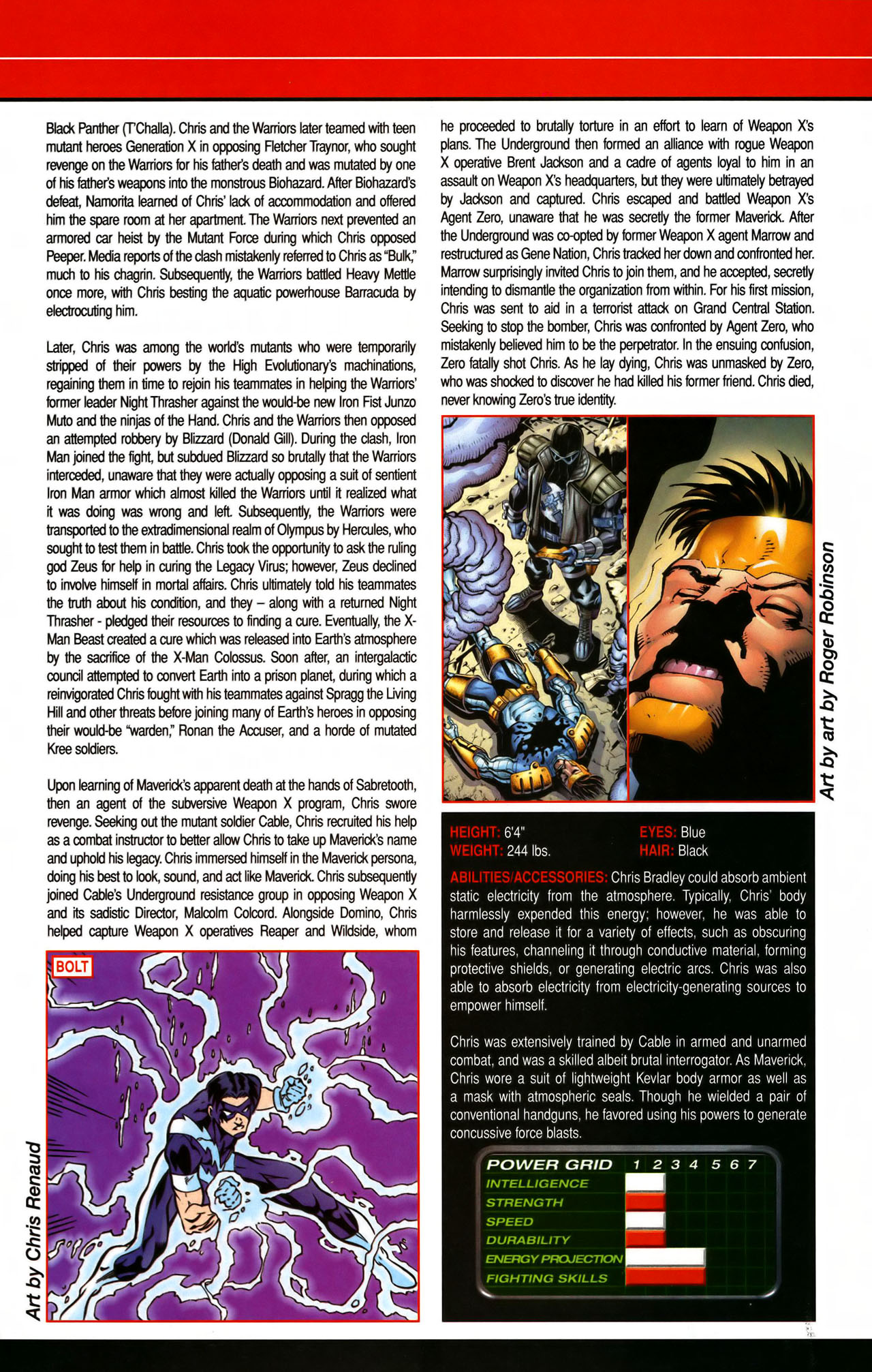 Read online All-New Official Handbook of the Marvel Universe A to Z comic -  Issue #7 - 23