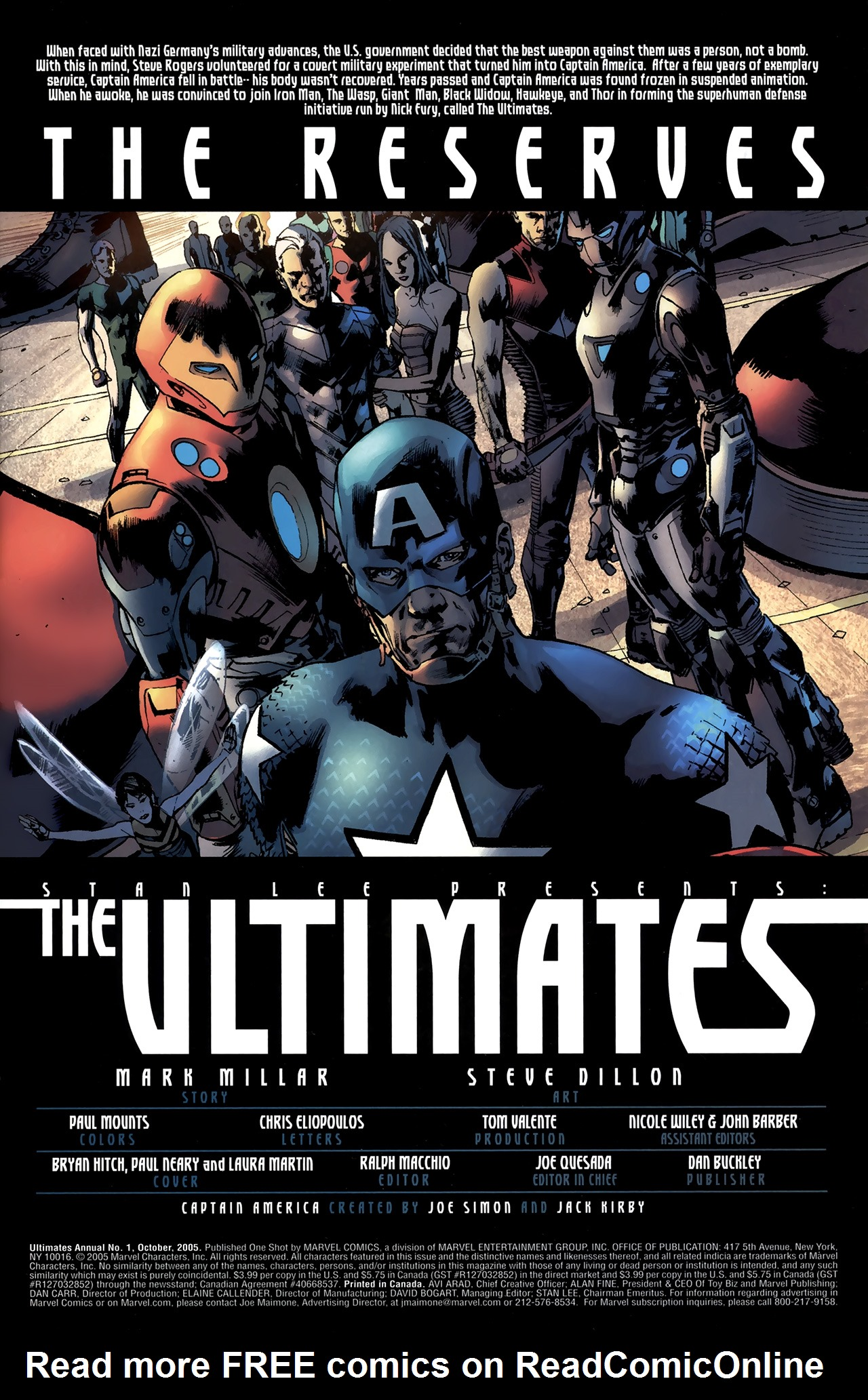Read online Ultimates 2 comic -  Issue # _Annual 1 - 2