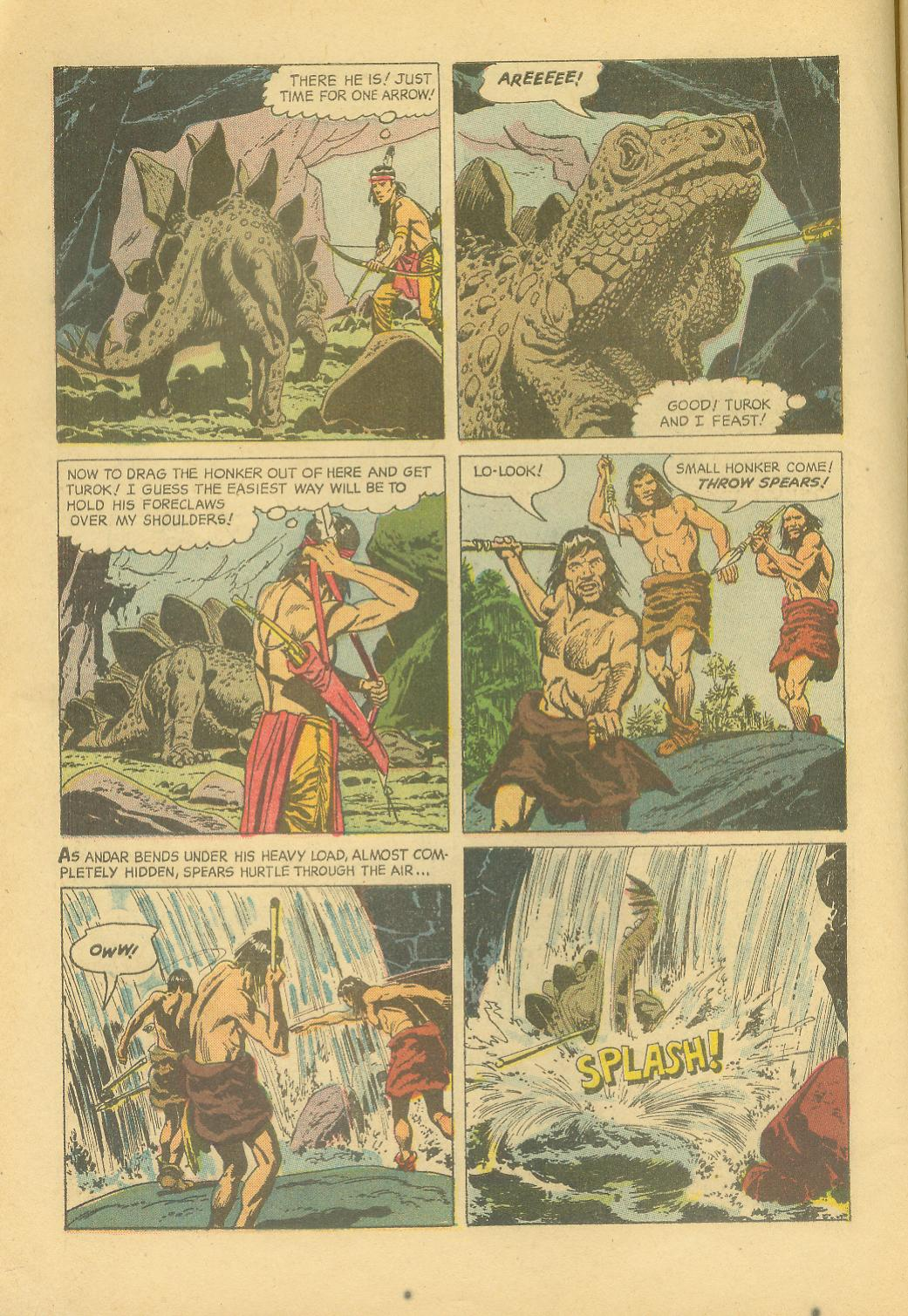 Read online Turok, Son of Stone comic -  Issue #25 - 6