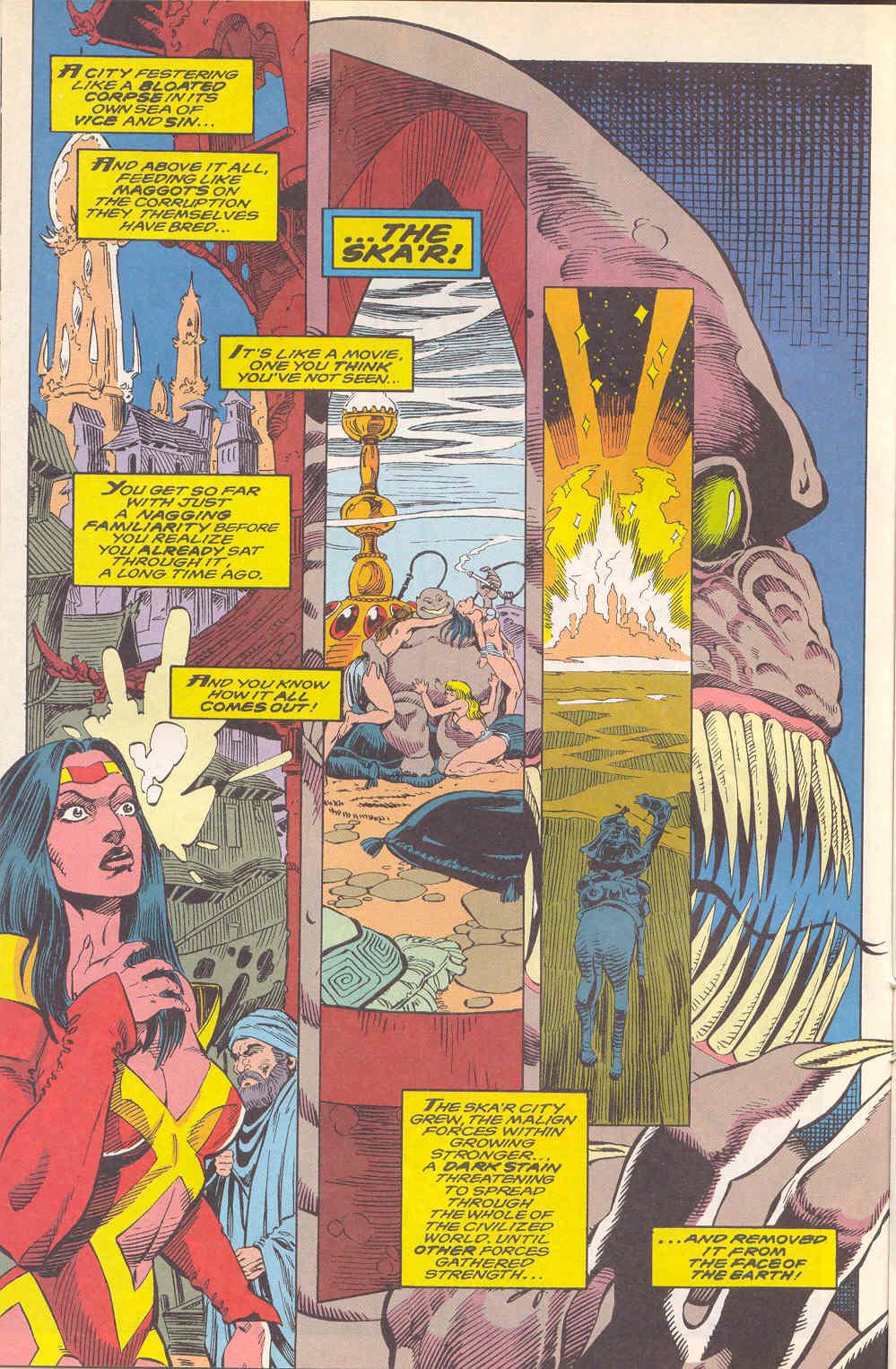 Read online Alpha Flight (1983) comic -  Issue #112 - 10