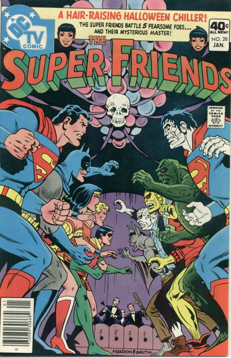 The Super Friends issue 28 - Page 1