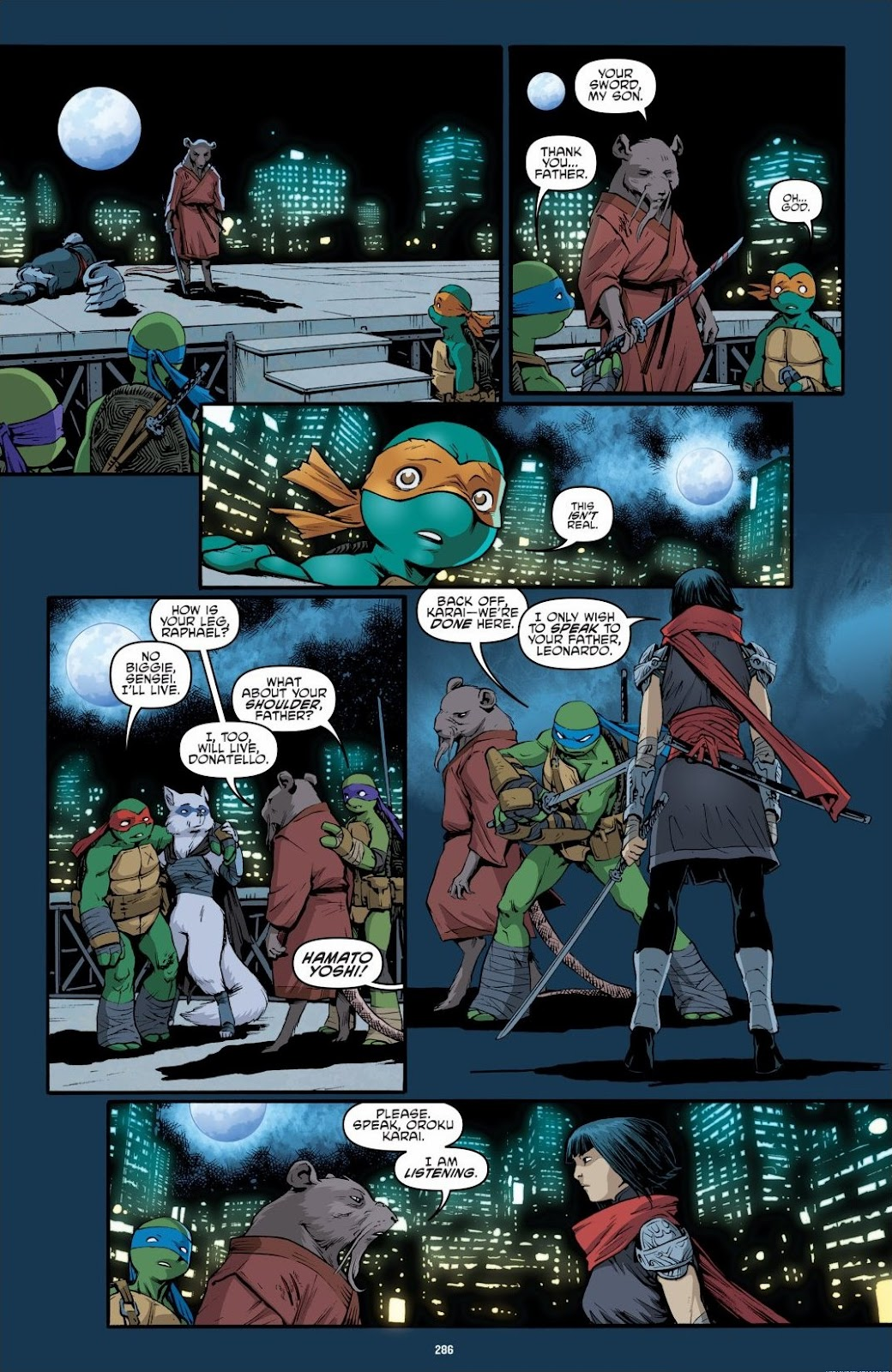 Read online Teenage Mutant Ninja Turtles: The IDW Collection comic -  Issue # TPB 6 (Part 3) - 77