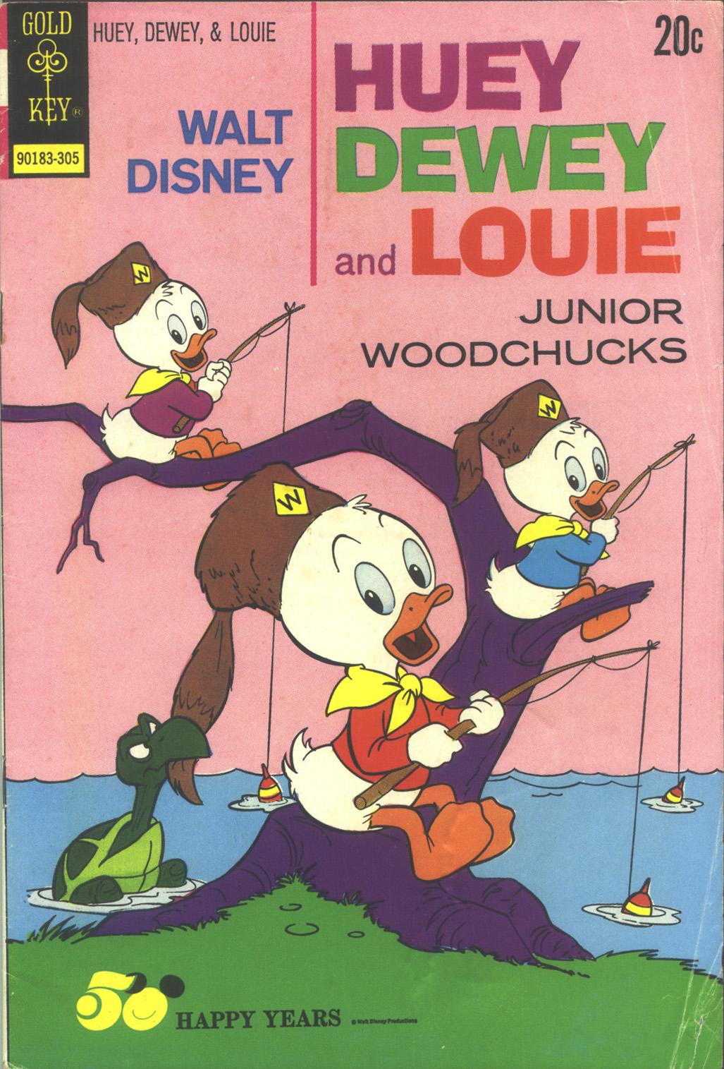 Huey, Dewey, and Louie Junior Woodchucks 20 Page 1