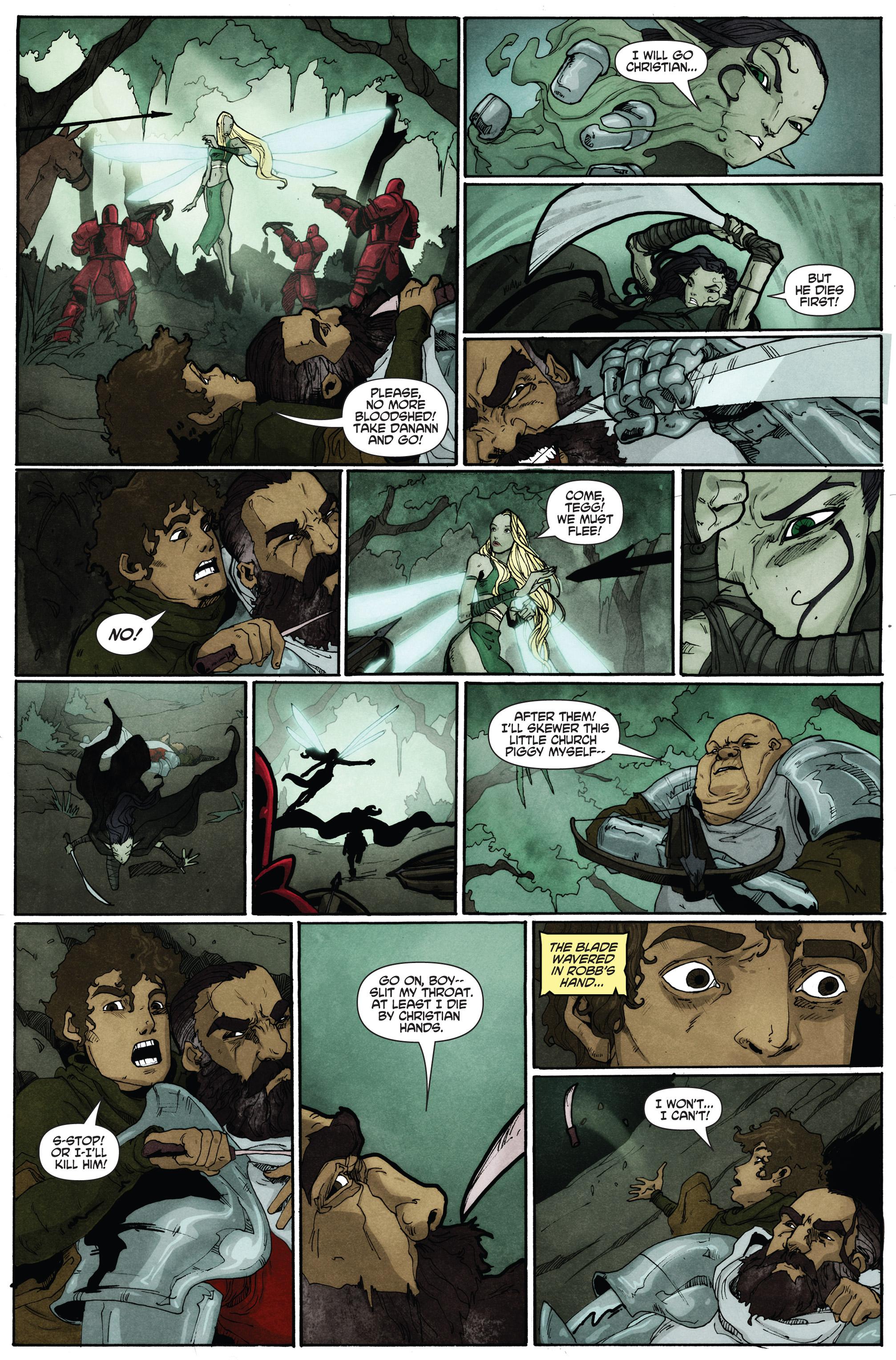 Read online Plague comic -  Issue #2 - 18