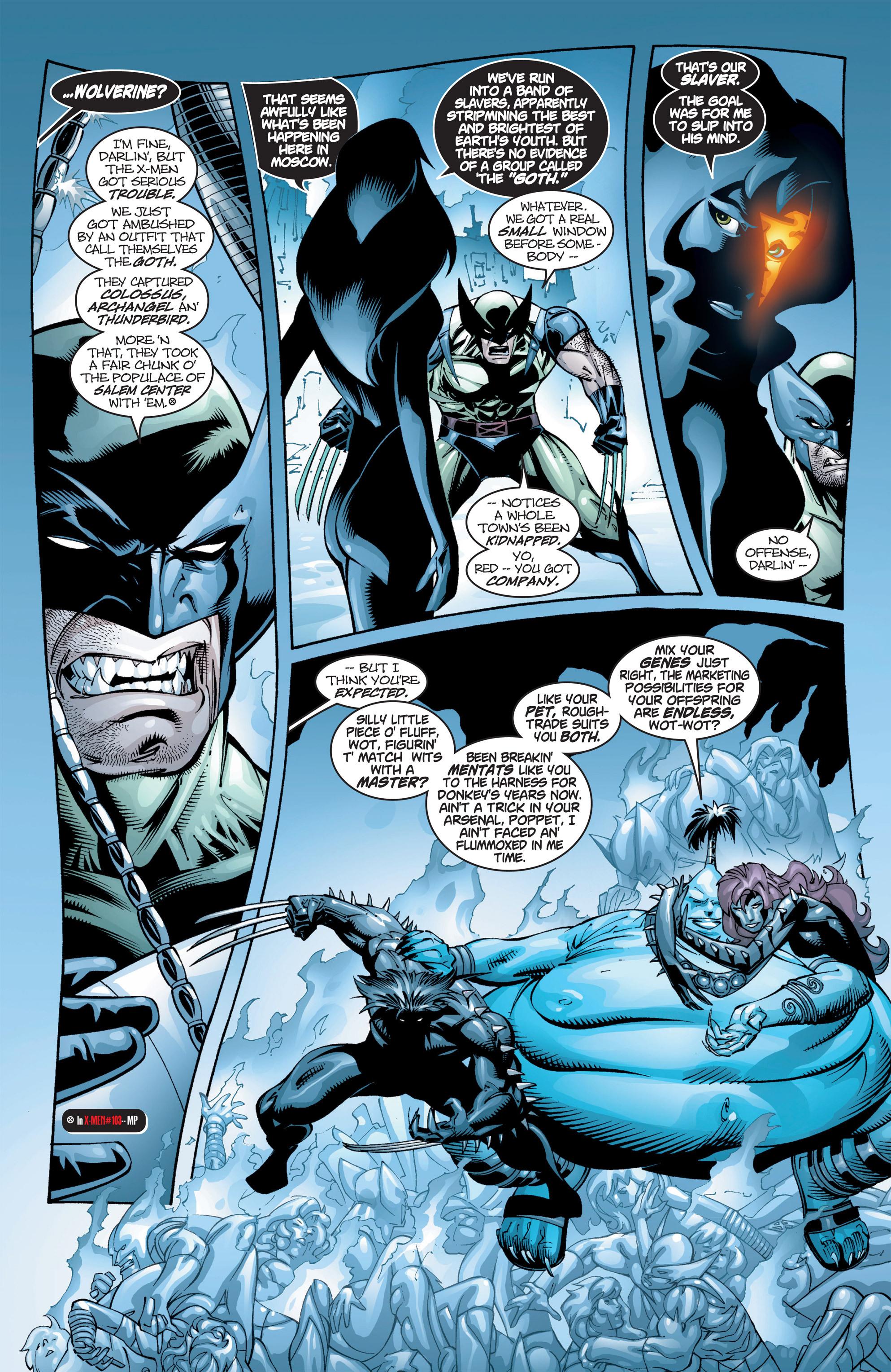 Read online Uncanny X-Men (1963) comic -  Issue #384 - 9