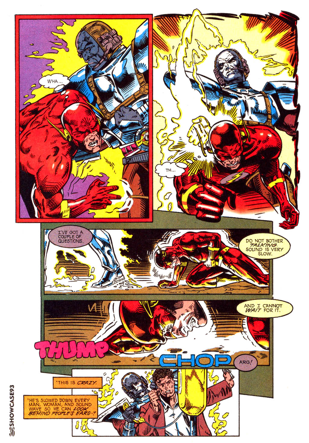 Read online Showcase '93 comic -  Issue #3 - 33