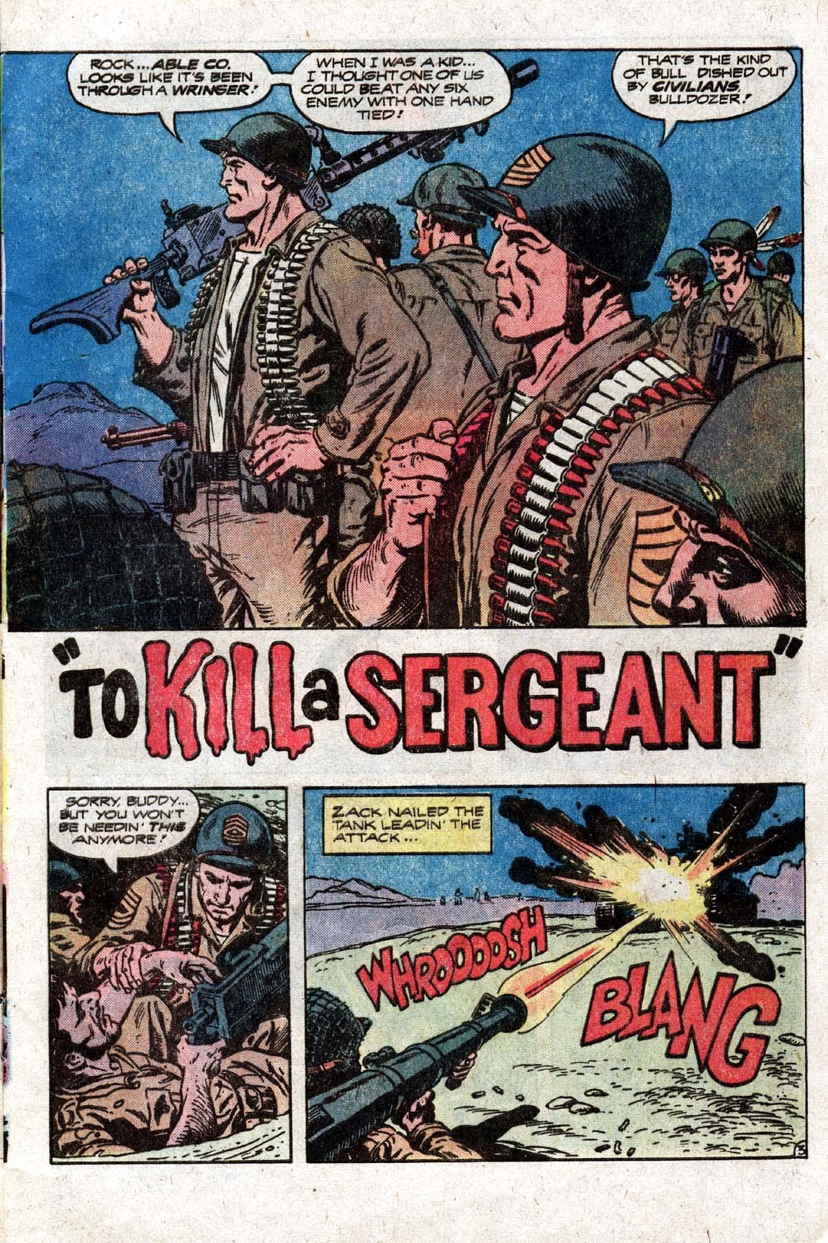 Read online Sgt. Rock comic -  Issue #319 - 6