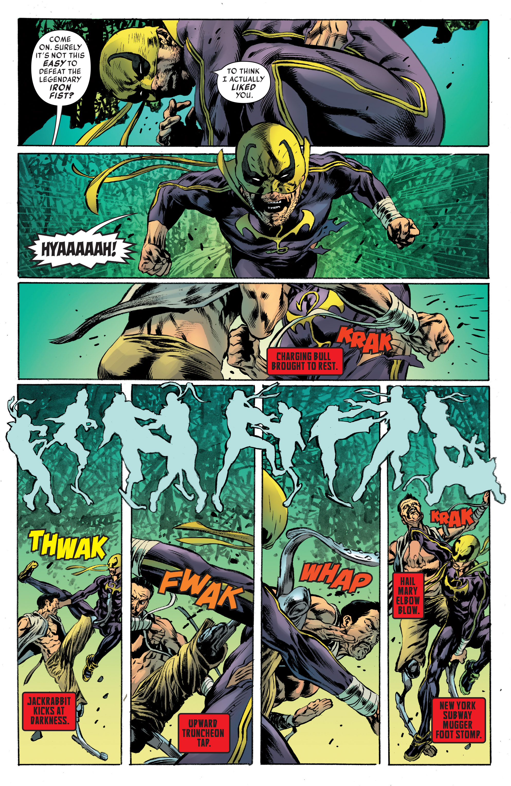 Read online Iron Fist (2017) comic -  Issue #4 - 16