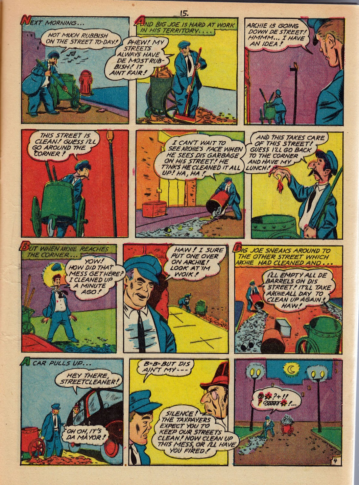 Read online Comedy Comics (1942) comic -  Issue #10 - 17