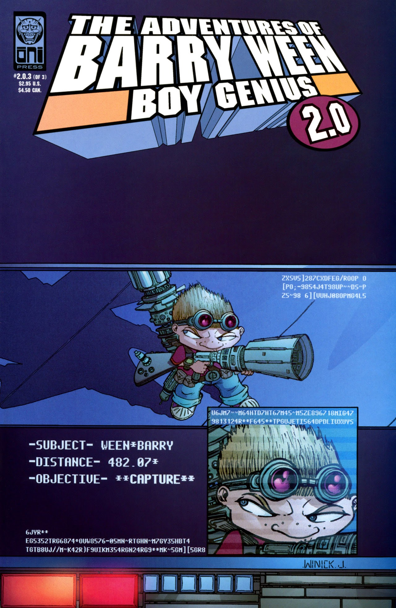 The Adventures of Barry Ween 2.0 issue 3 - Page 1