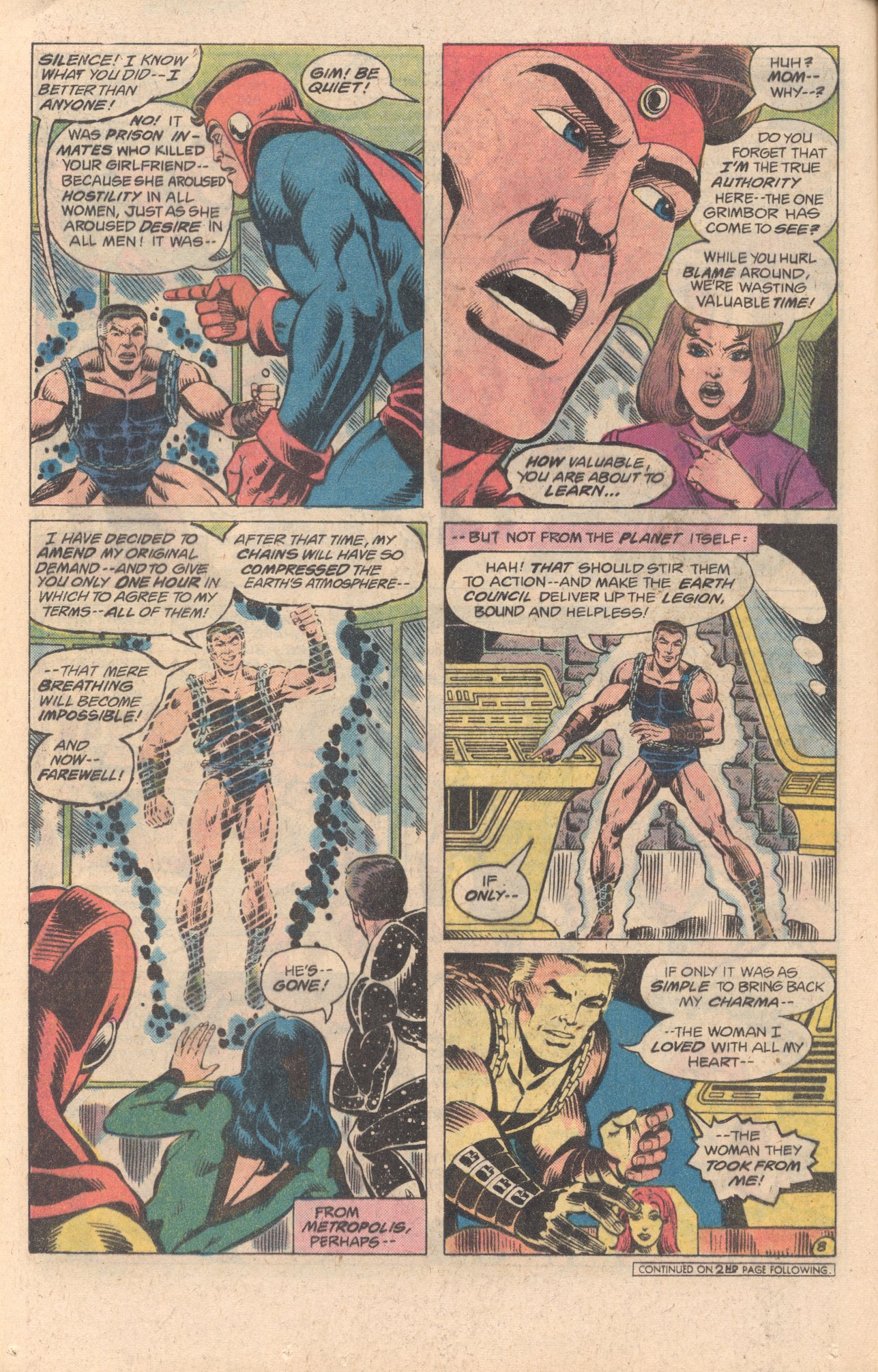 Legion of Super-Heroes (1980) 278 Page 8