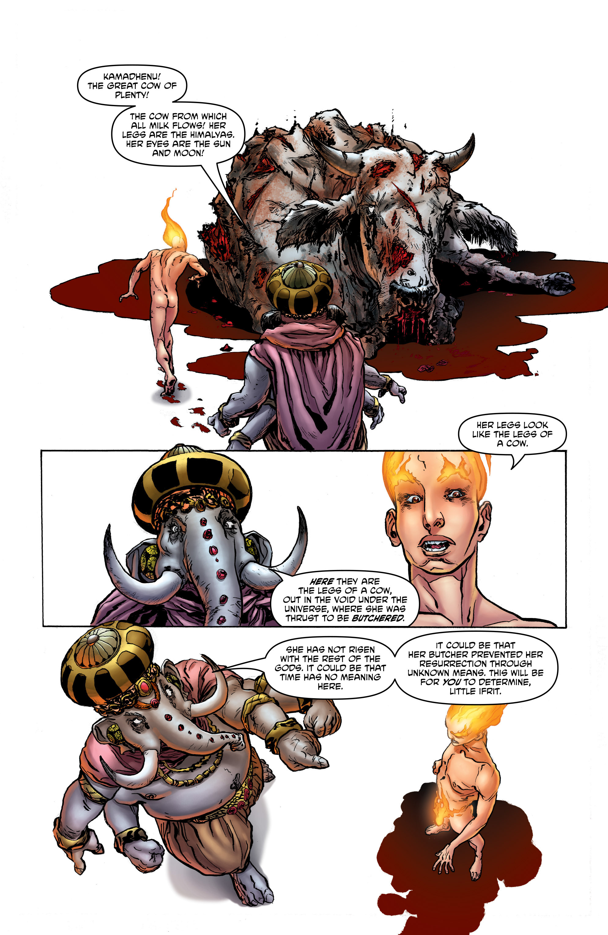 Read online God is Dead: Book of Acts comic -  Issue # Alpha - 13