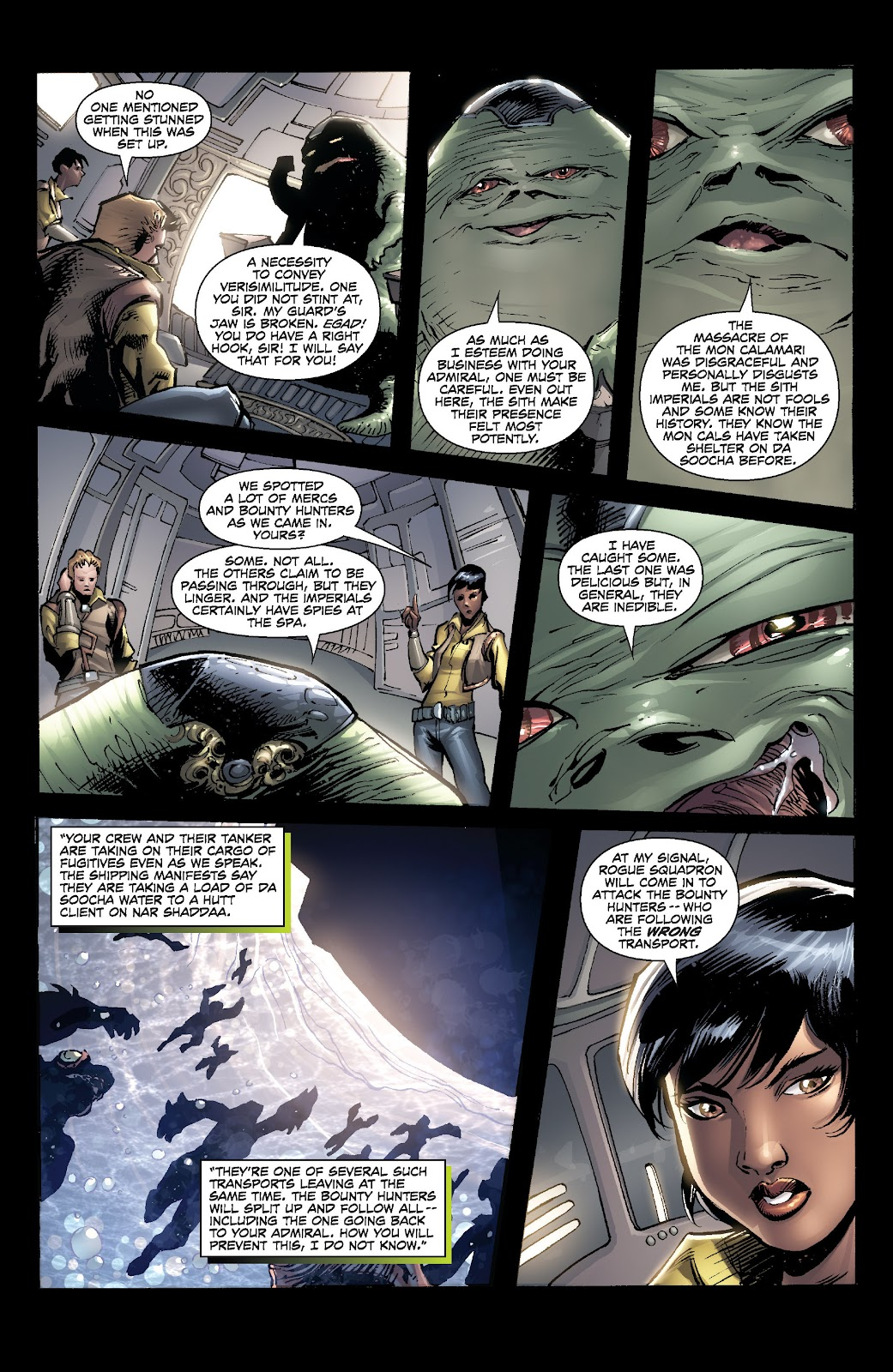 Read online Star Wars Legends: Legacy - Epic Collection comic -  Issue # TPB 2 (Part 5) - 25