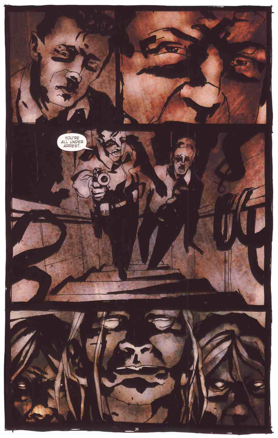 Read online Silent Hill: The Grinning Man comic -  Issue # Full - 31