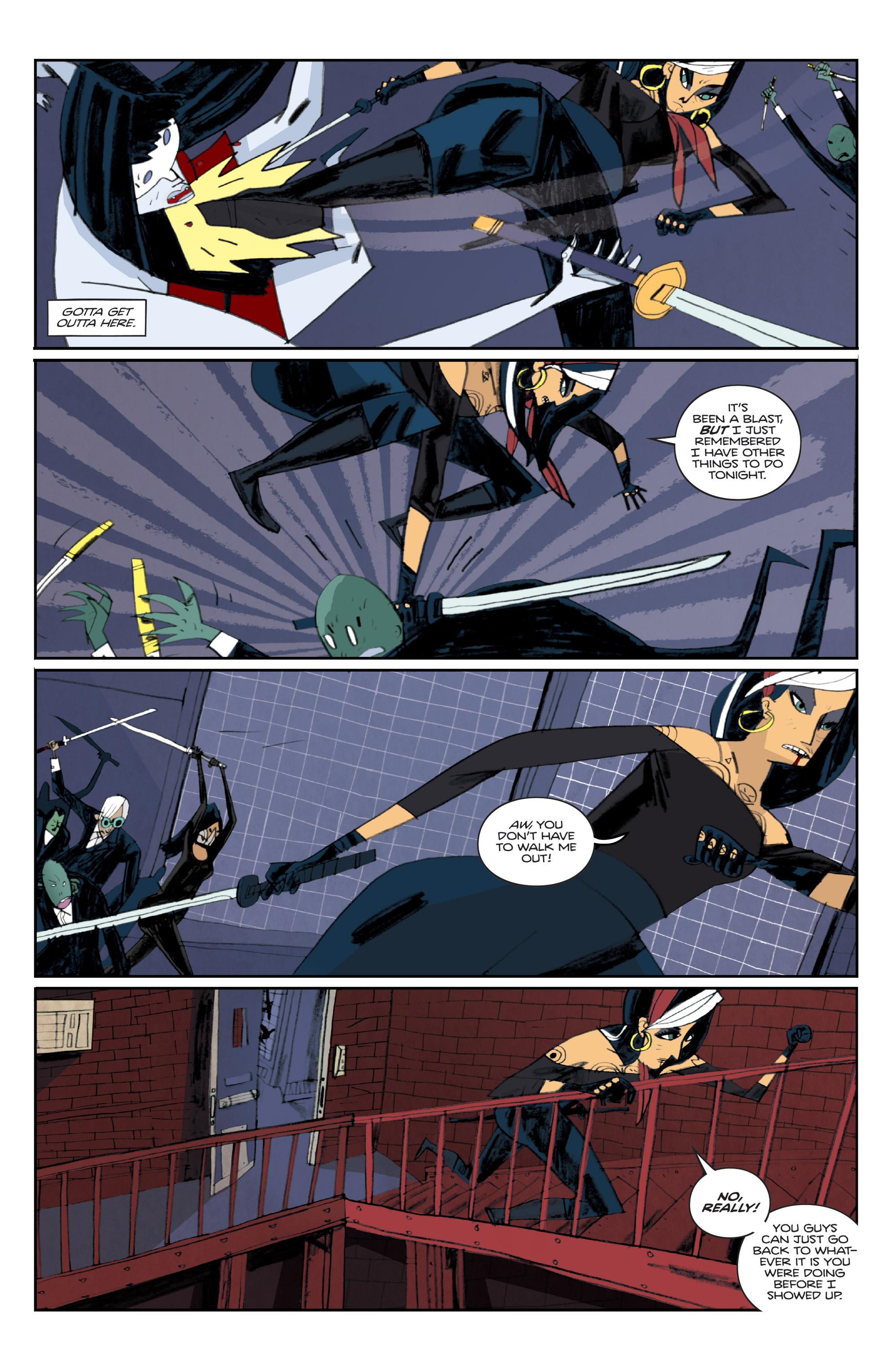 Read online Helena Crash comic -  Issue #3 - 6