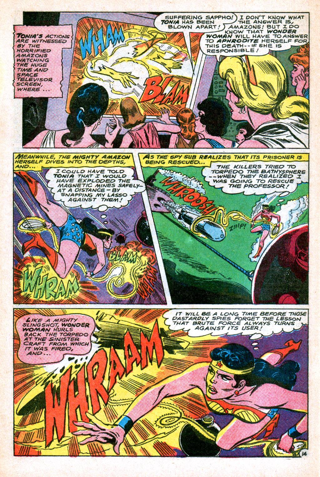Read online Wonder Woman (1942) comic -  Issue #173 - 20