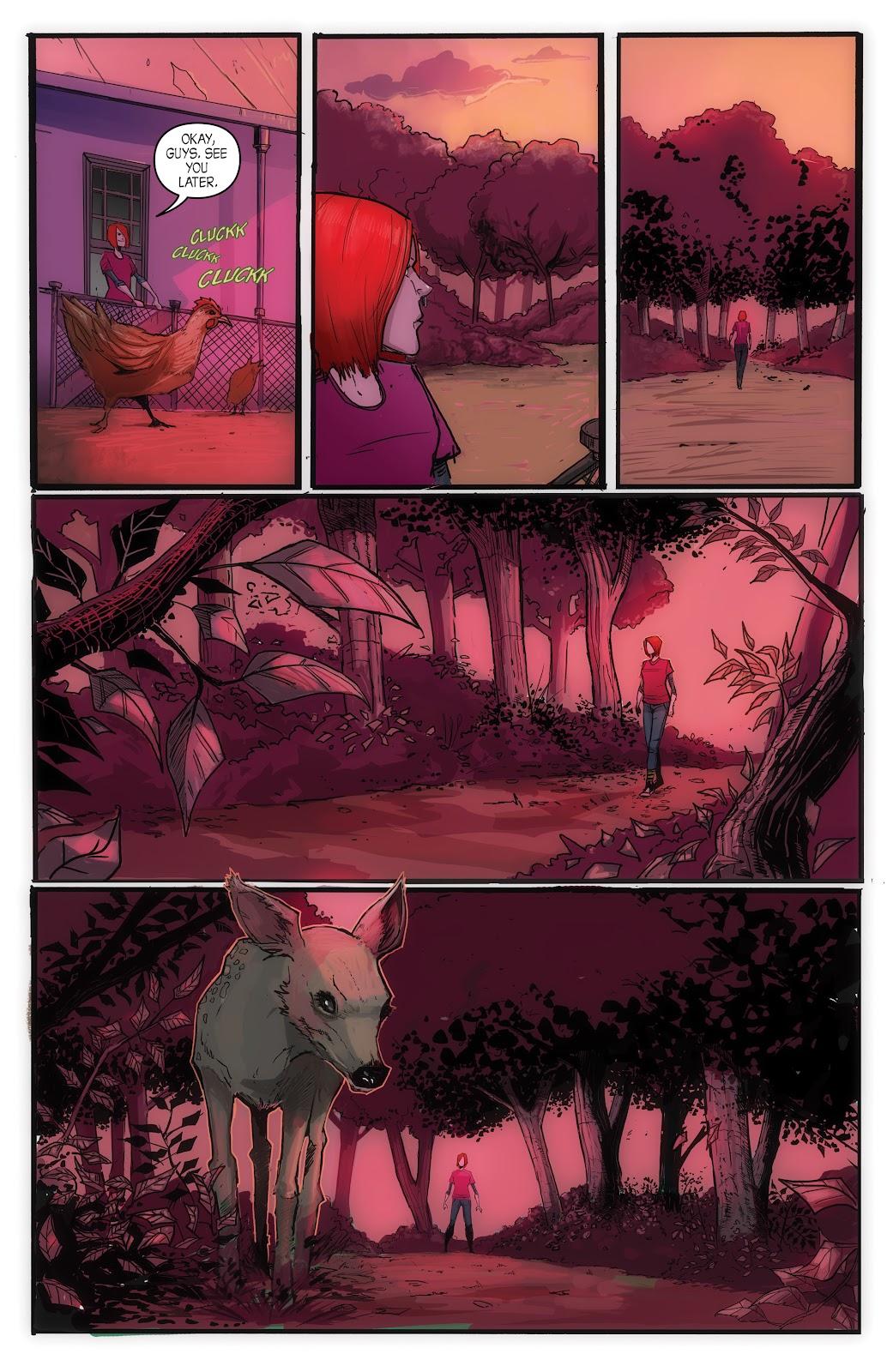 Read online John Carpenter Presents Storm Kids: Monica Bleue: A Werewolf Story comic -  Issue #1 - 17