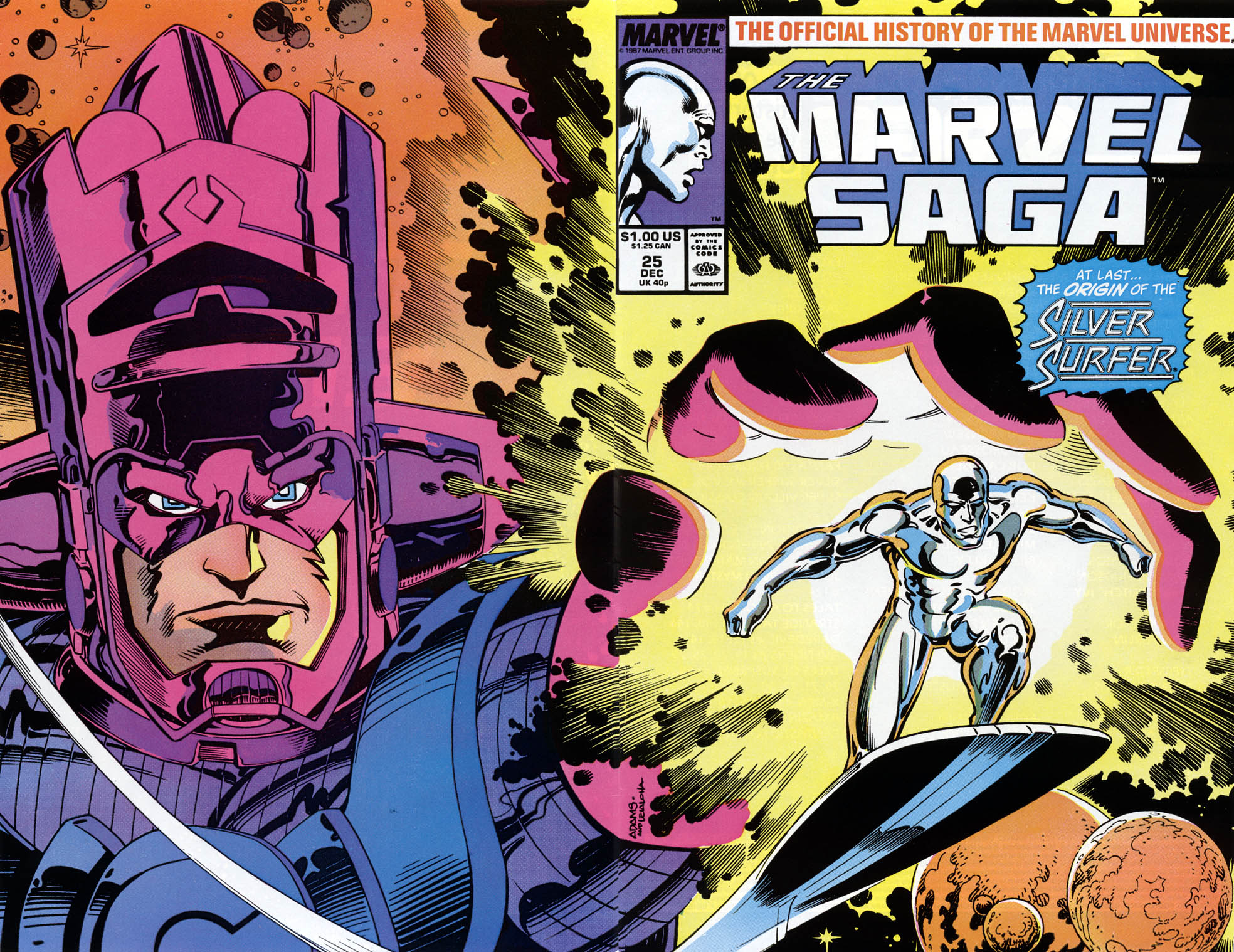 Marvel Saga: The Official History of the Marvel Universe 25 Page 1