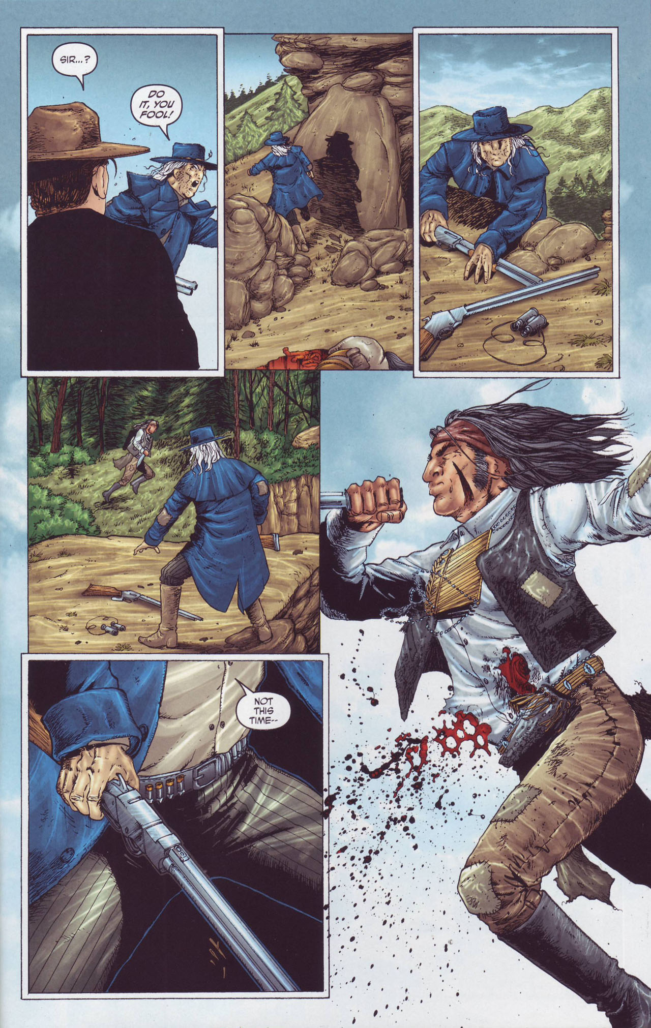 Read online Garth Ennis' Streets of Glory comic -  Issue #4 - 9