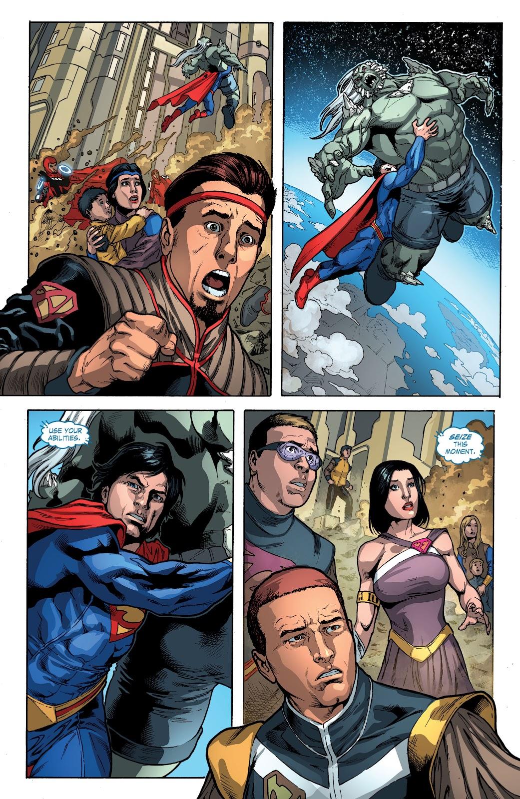 Read online Smallville Season 11 [II] comic -  Issue # TPB 4 - 87