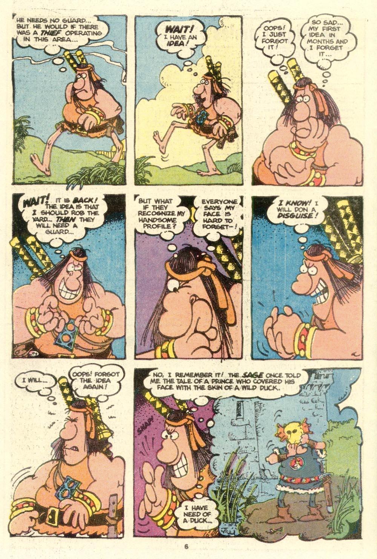 Read online Sergio Aragonés Groo the Wanderer comic -  Issue #16 - 6