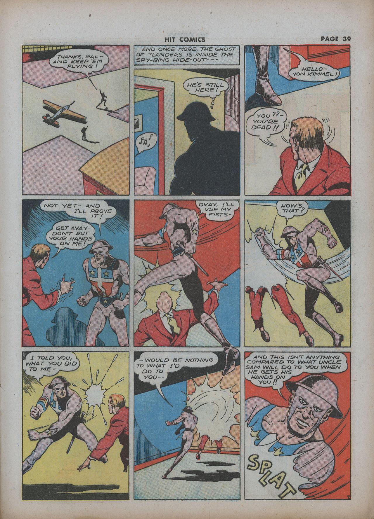 Read online Hit Comics comic -  Issue #22 - 41