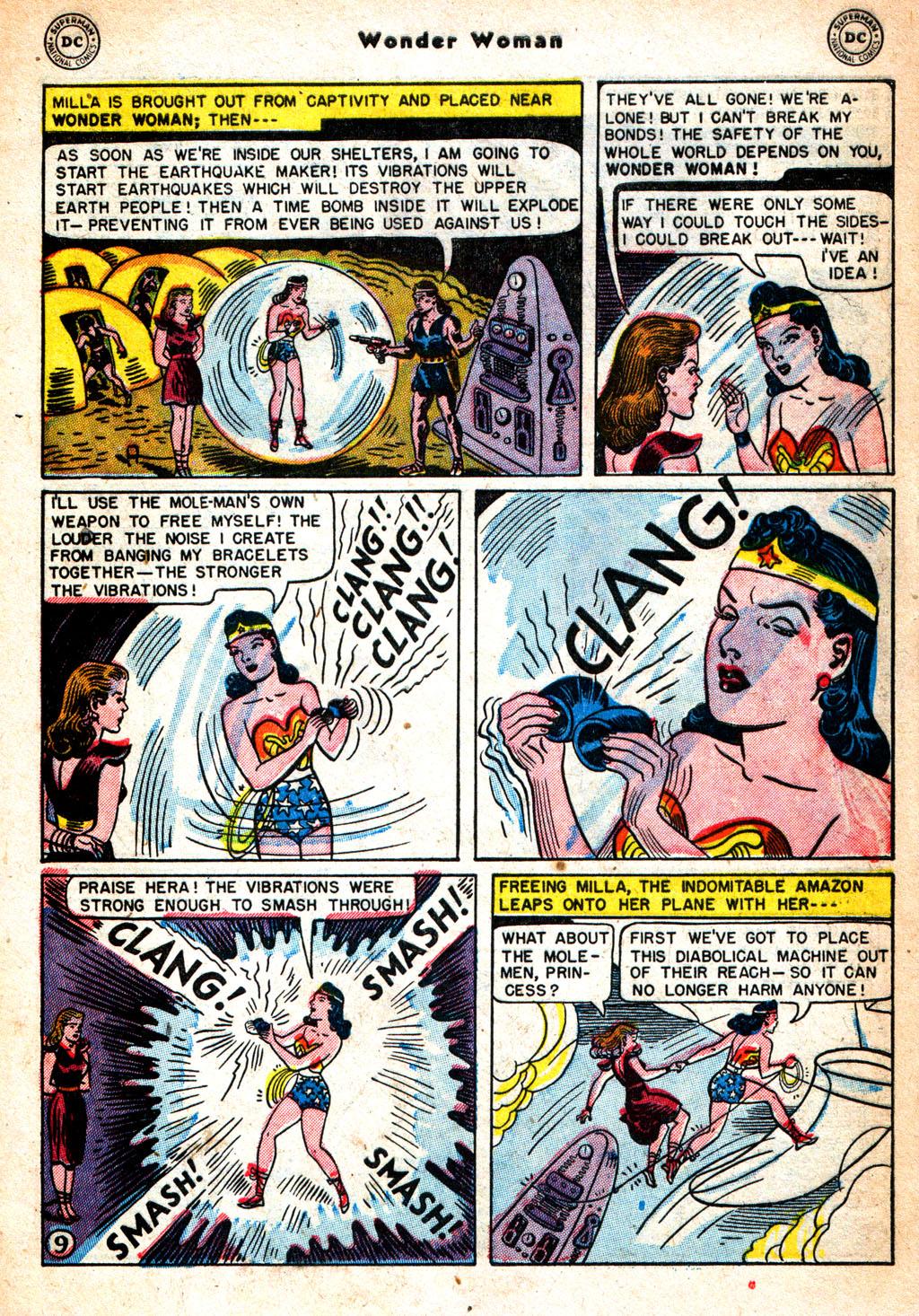 Read online Wonder Woman (1942) comic -  Issue #57 - 10