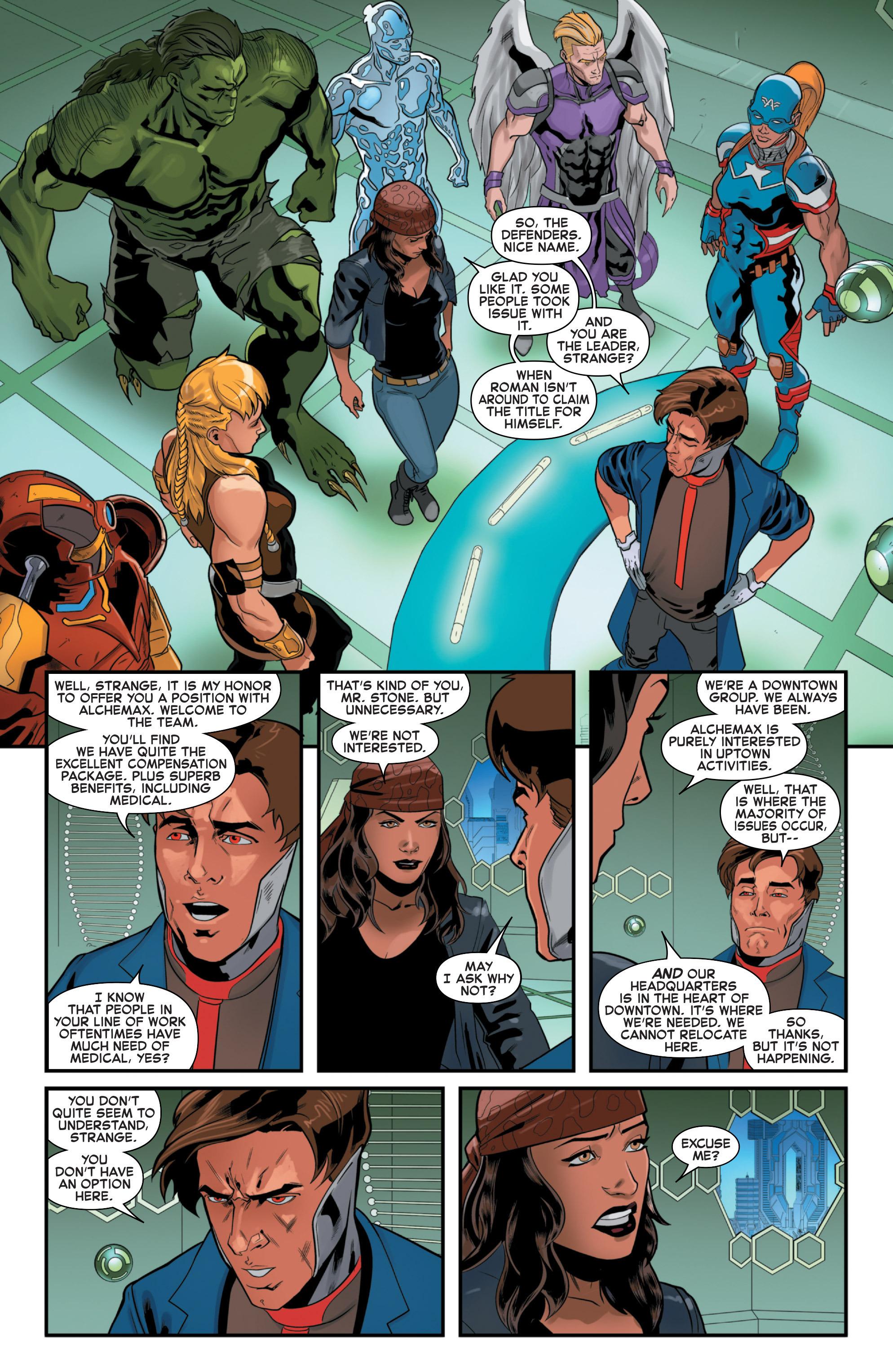 Read online Secret Wars 2099 comic -  Issue #3 - 18