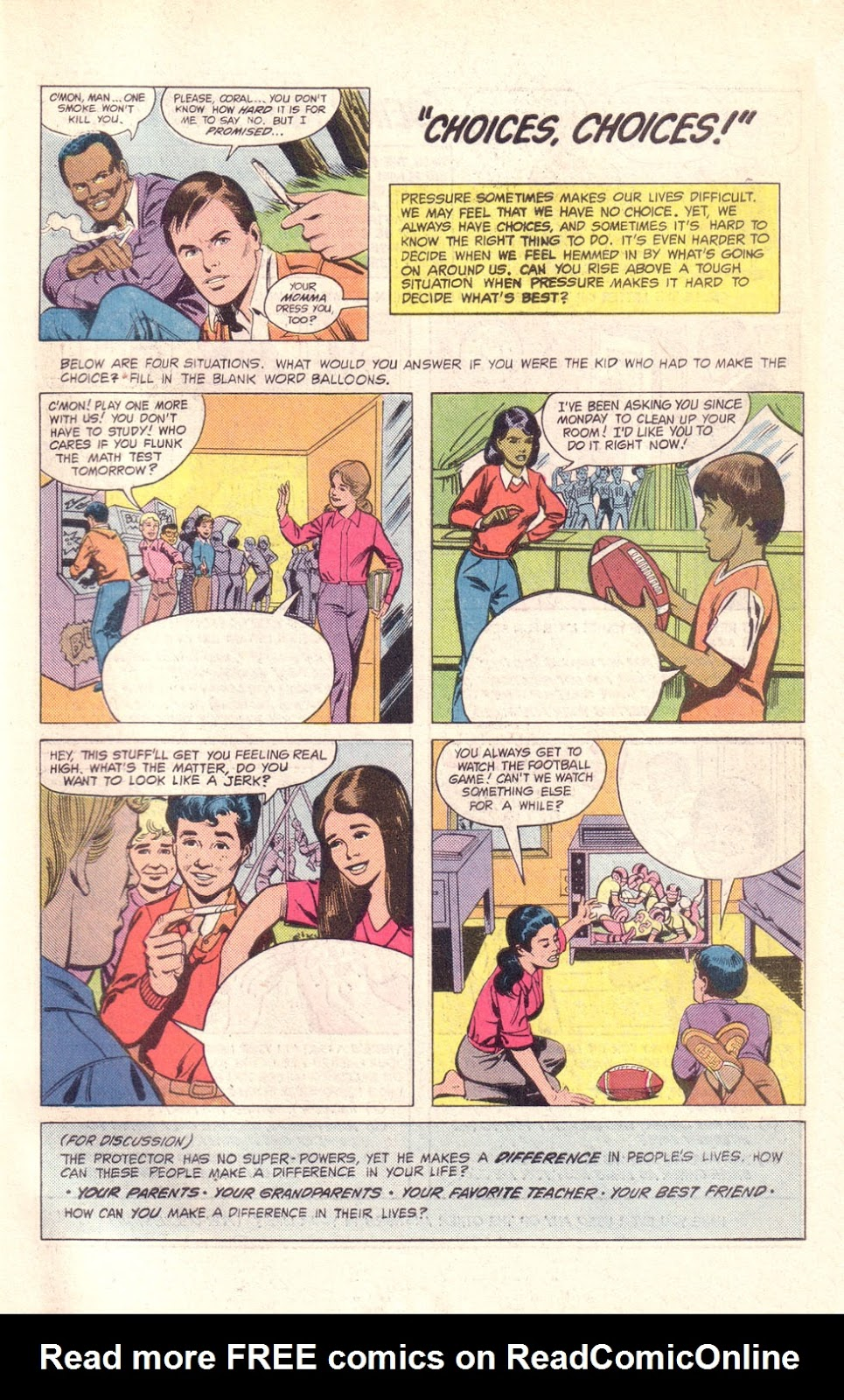 Read online The New Teen Titans (Drug Awareness Specials) comic -  Issue #1 - 31
