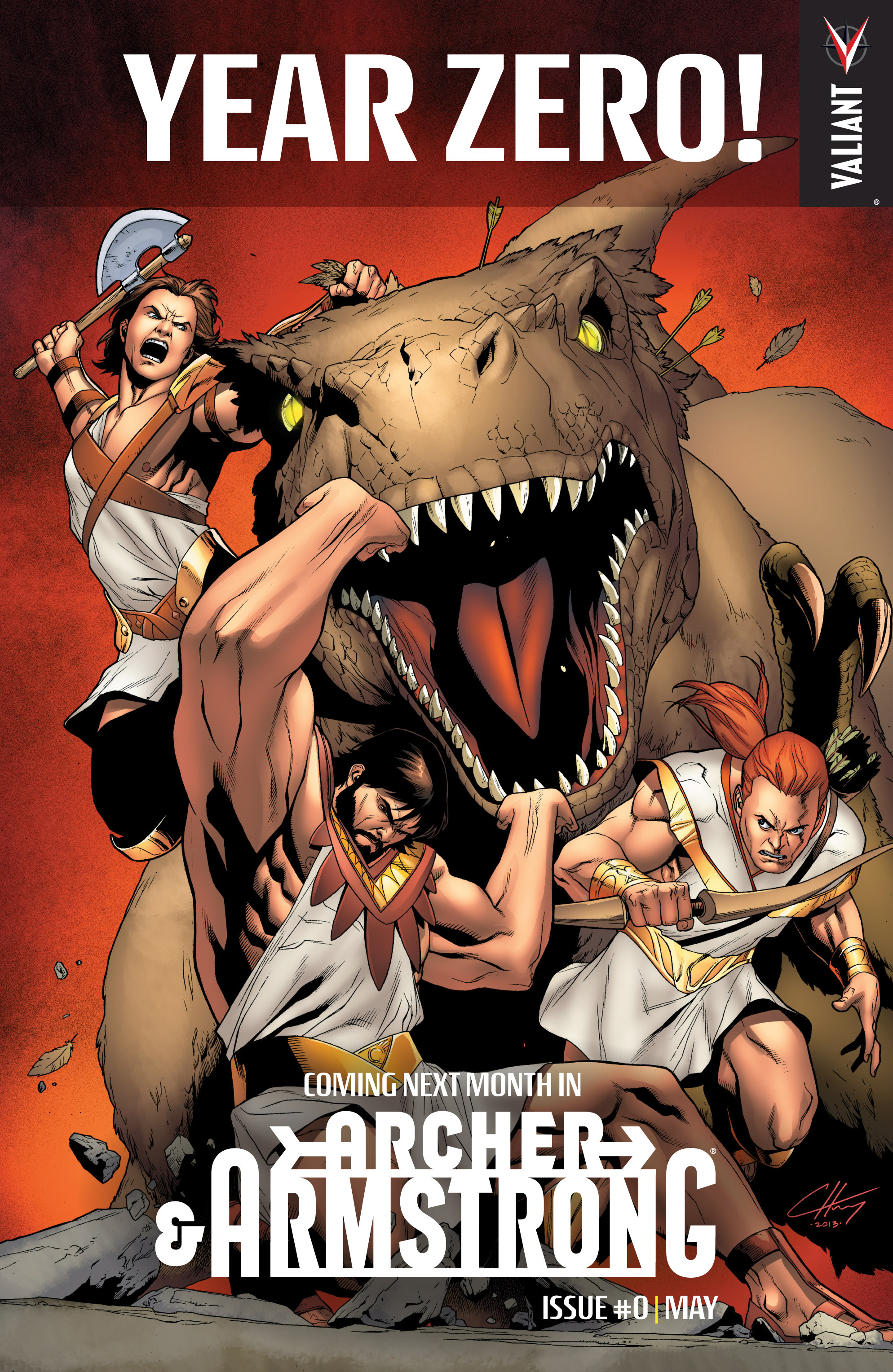 Read online Archer and Armstrong comic -  Issue #9 - 25