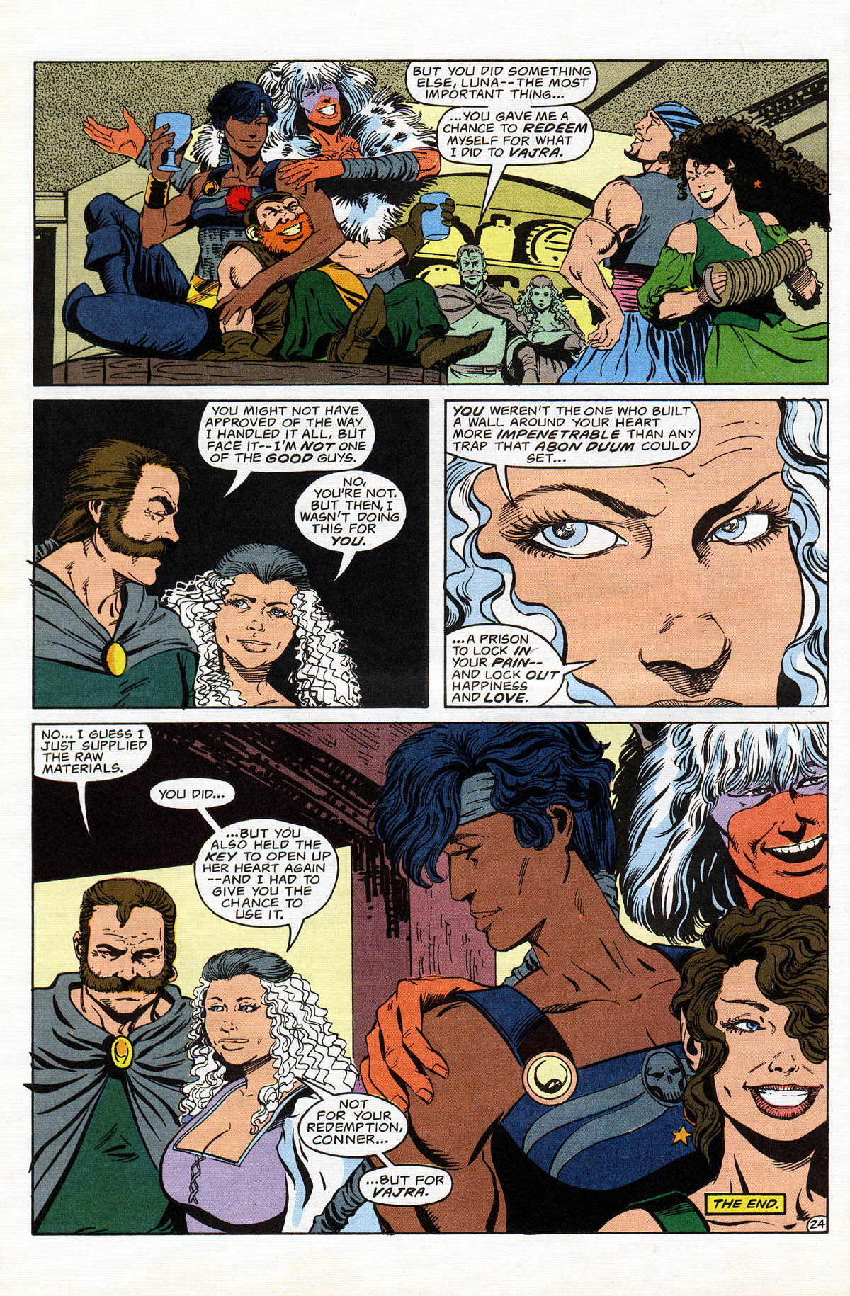 Read online Advanced Dungeons & Dragons comic -  Issue #16 - 29