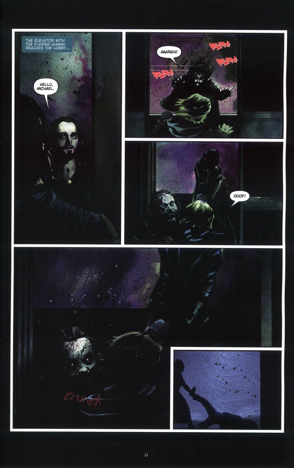 Read online Underworld (2003) comic -  Issue # Full - 15