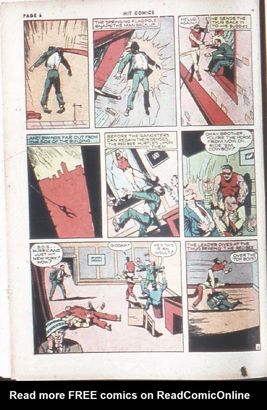 Read online Hit Comics comic -  Issue #7 - 8