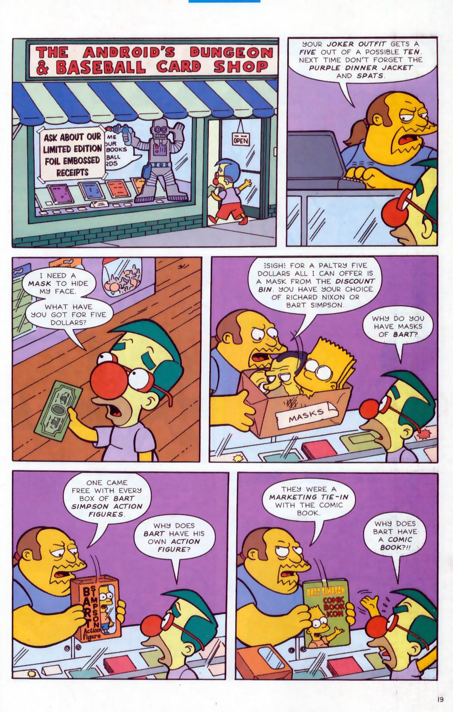 Read online Simpsons Comics comic -  Issue #78 - 20