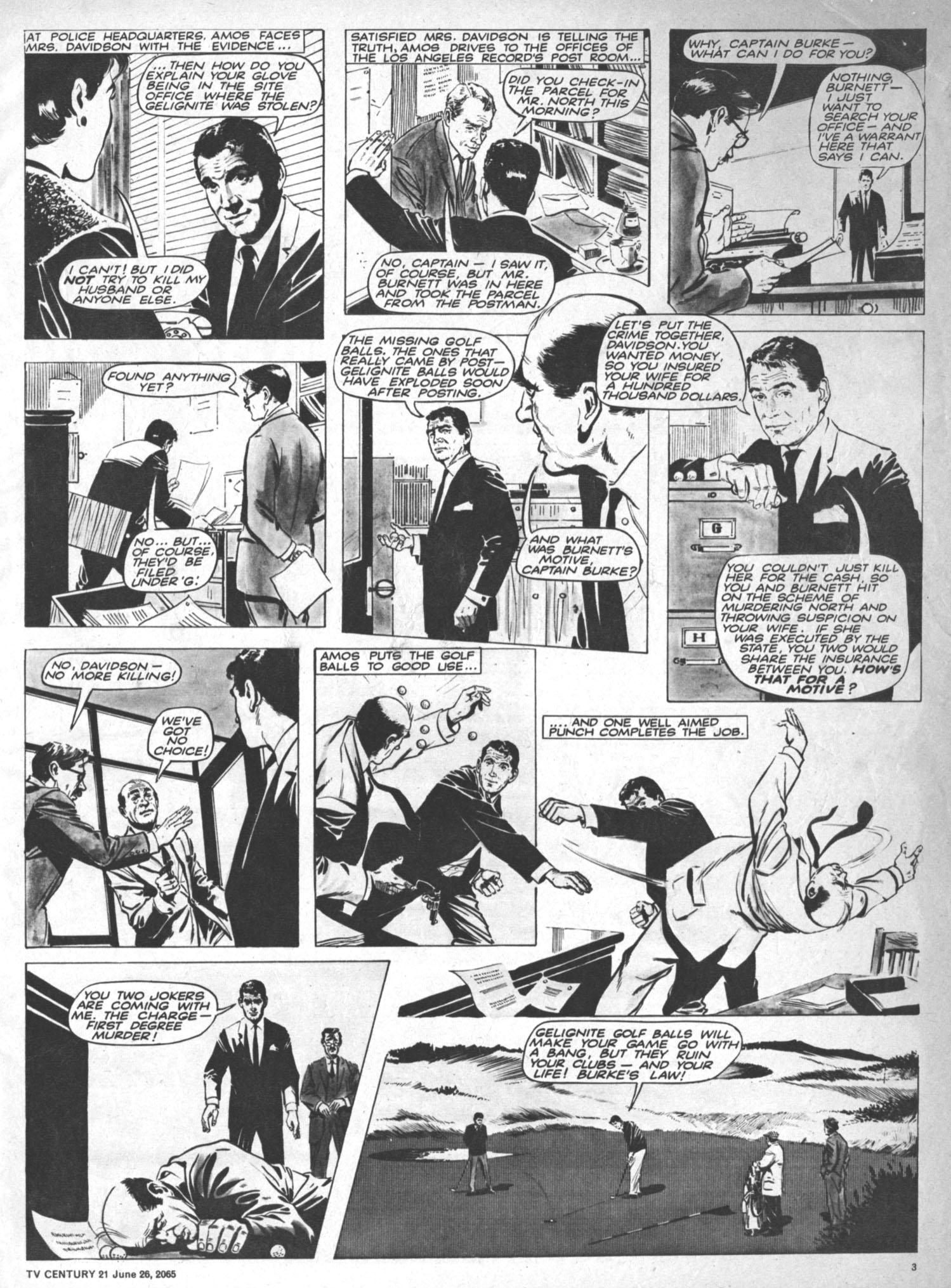 Read online TV Century 21 (TV 21) comic -  Issue #23 - 3