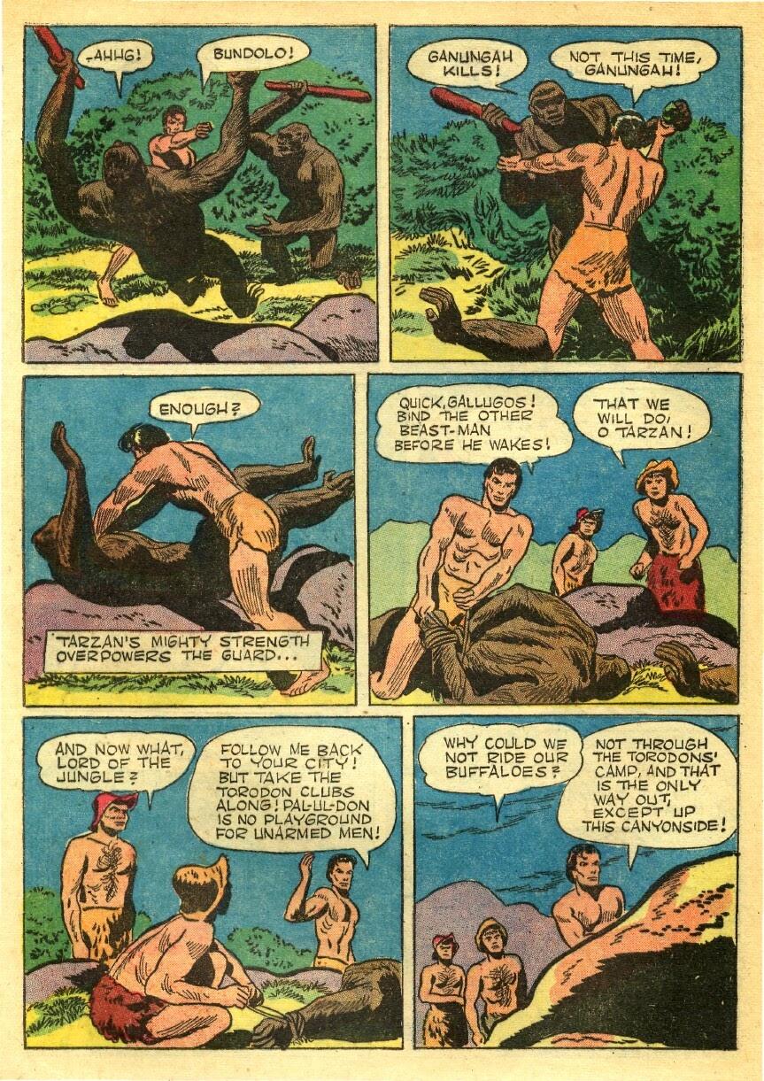 Tarzan (1948) issue 56 - Page 36
