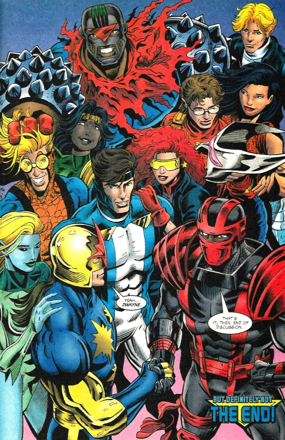 The New Warriors Issue #75 #79 - English 39