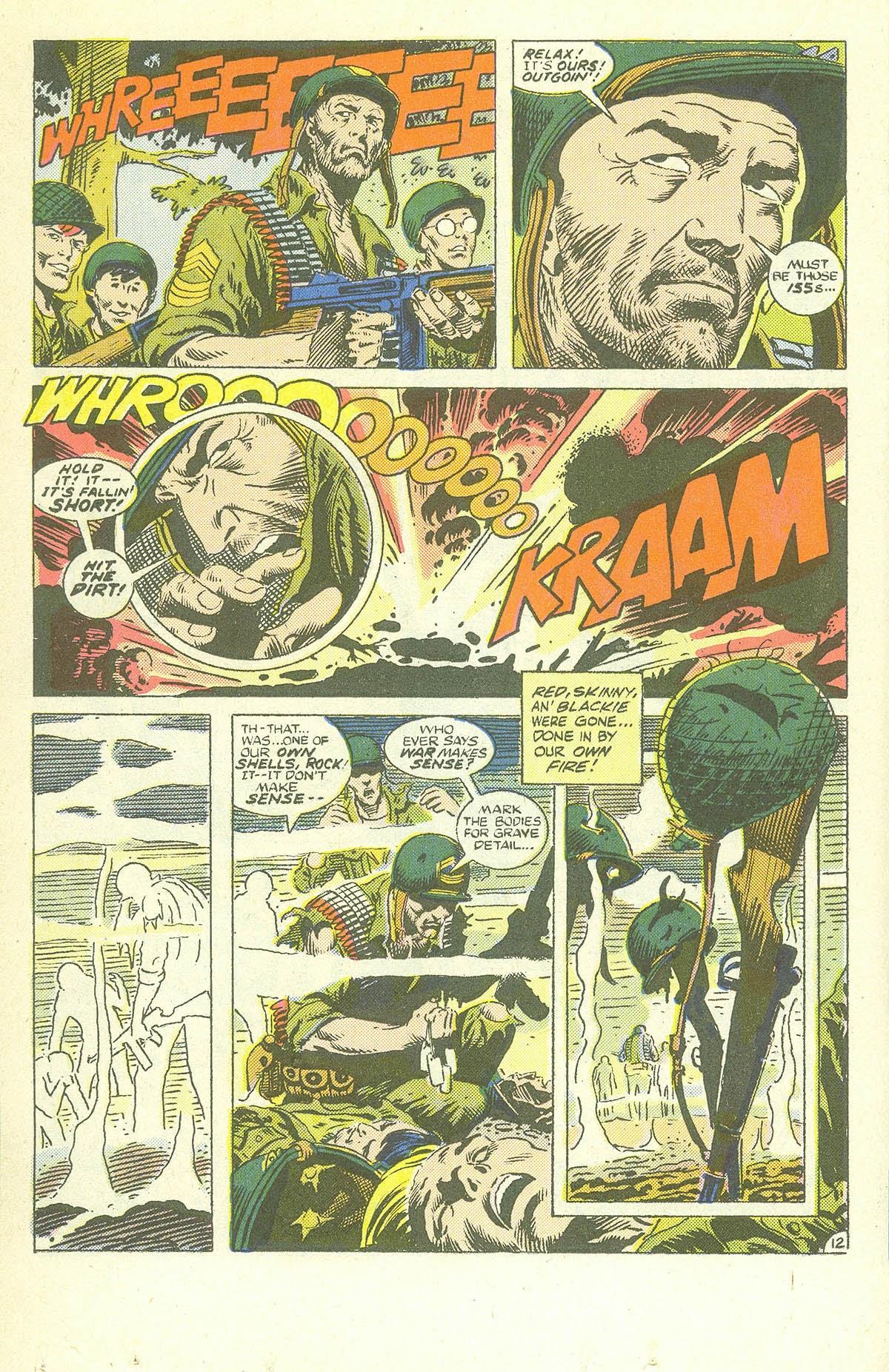 Read online Sgt. Rock comic -  Issue #409 - 17