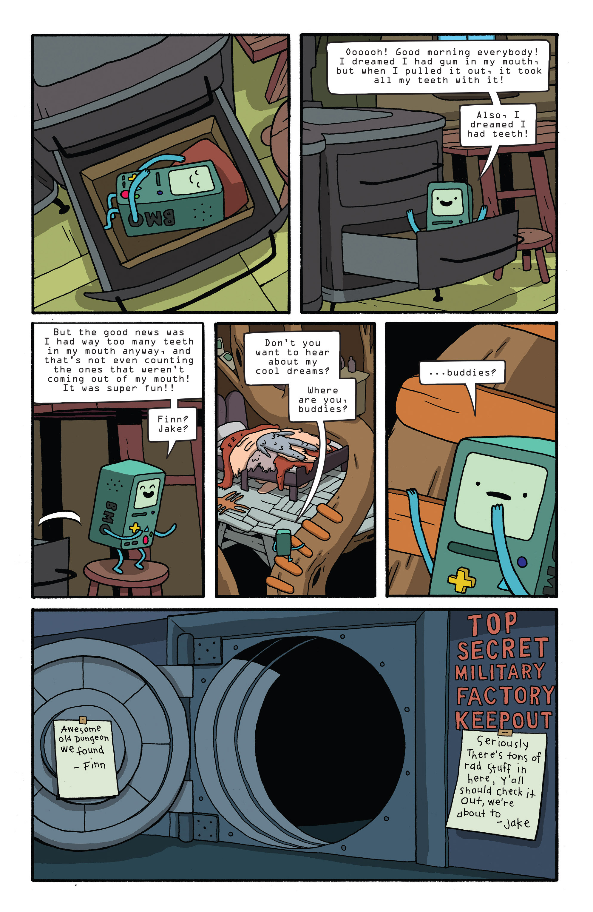 Read online Adventure Time comic -  Issue #26 - 6