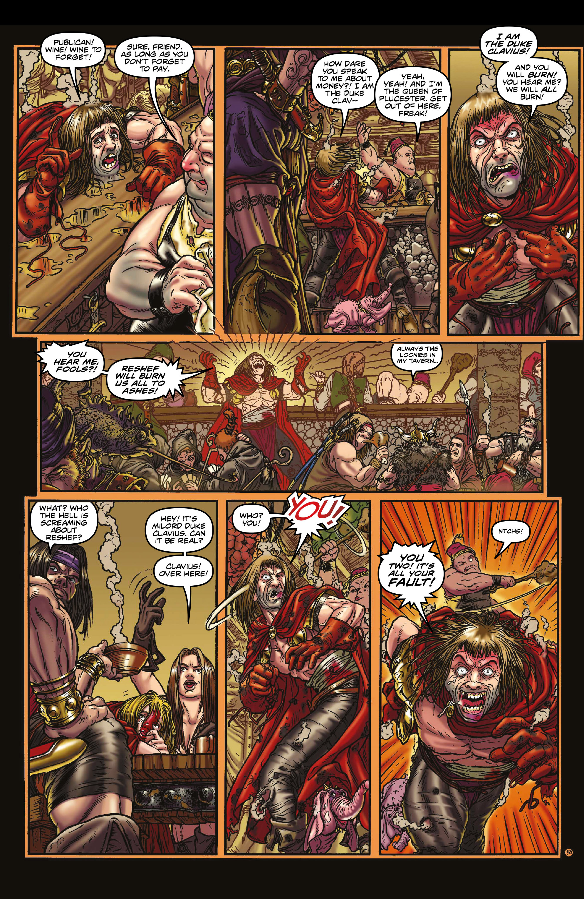 Read online Rogues!: The Burning Heart comic -  Issue #3 - 8