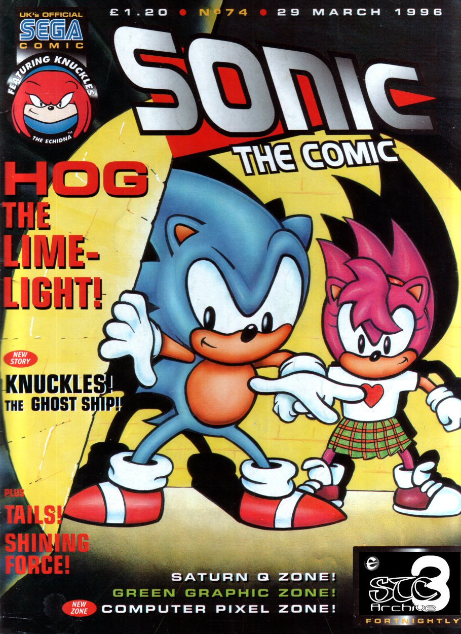 Read online Sonic the Comic comic -  Issue #74 - 1