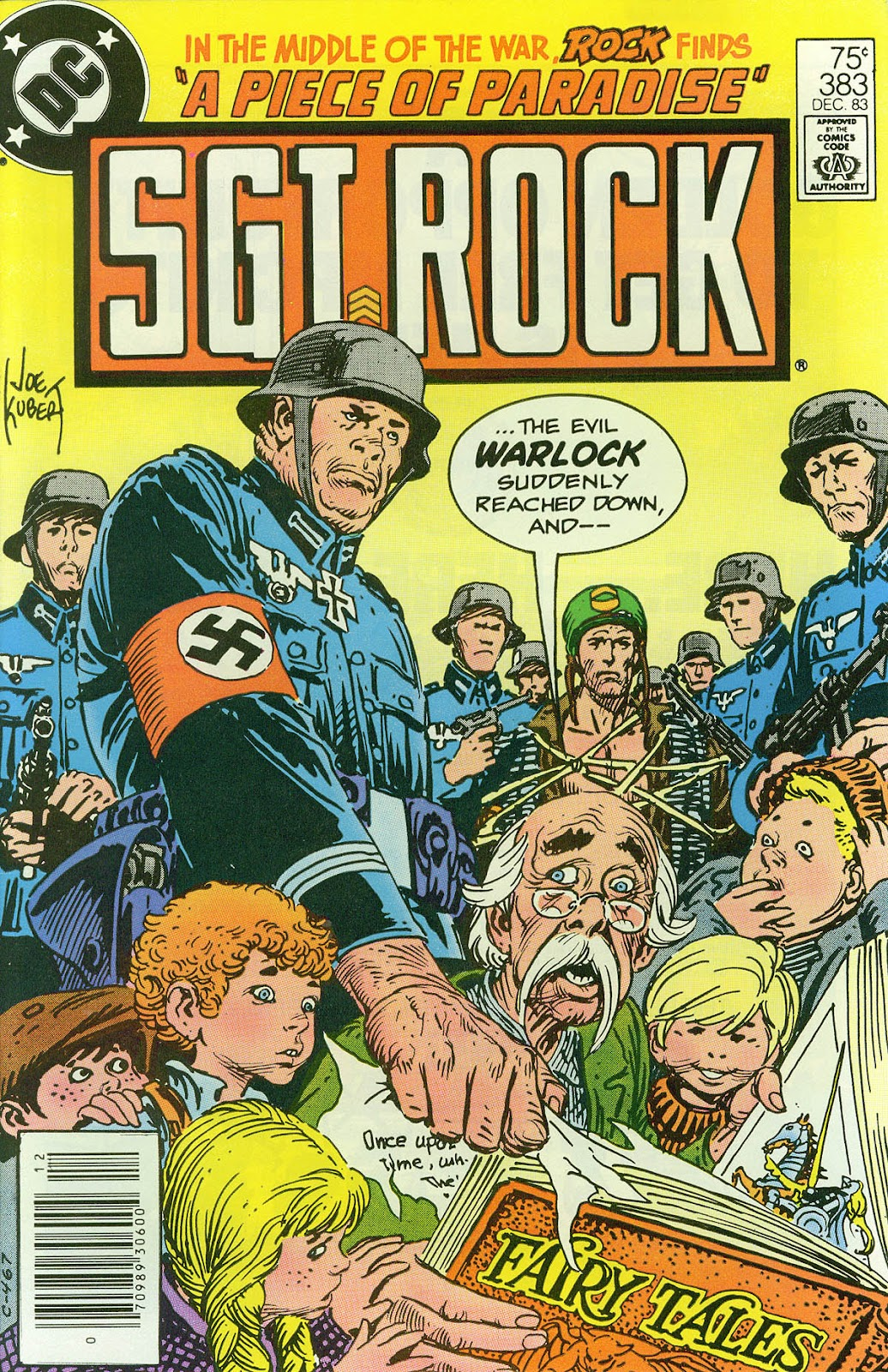 Sgt. Rock issue 383 - Page 1