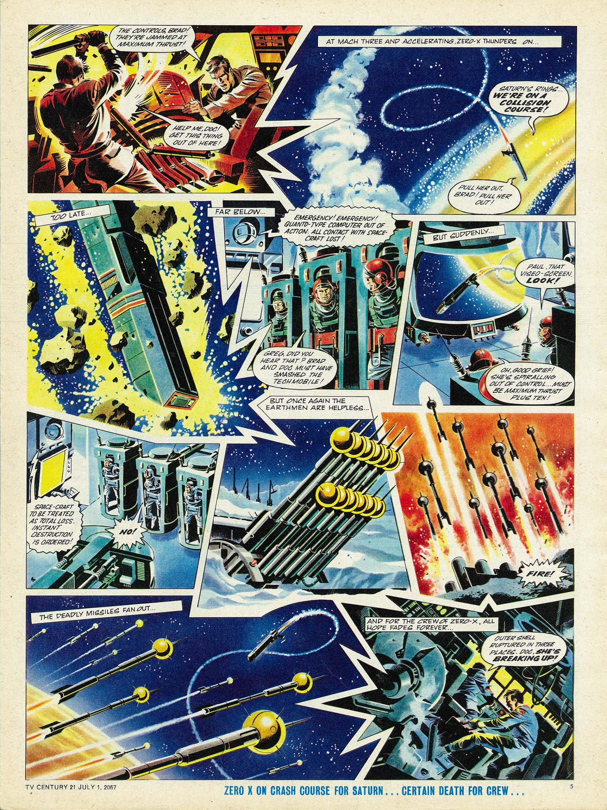 Read online TV Century 21 (TV 21) comic -  Issue #128 - 5